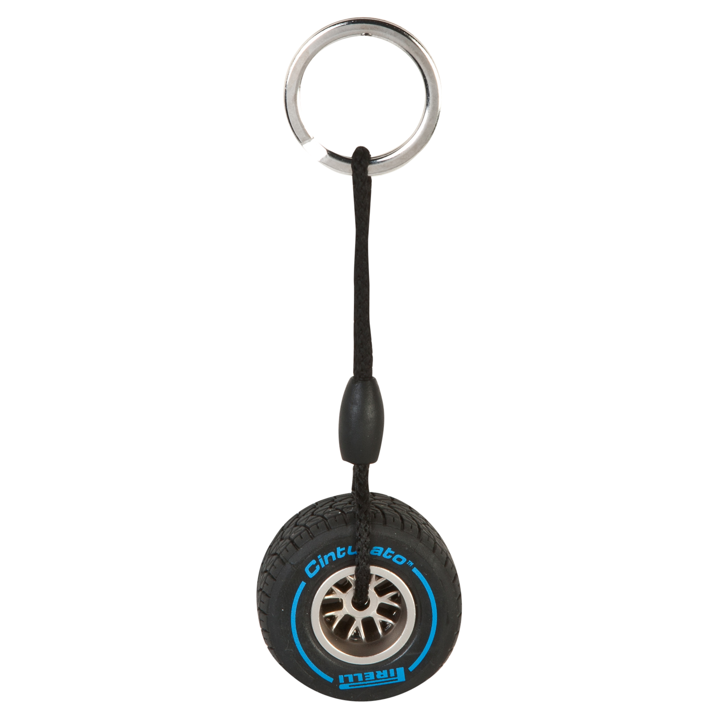 Pirelli Rim Tyre Key Ring - Wet Blue