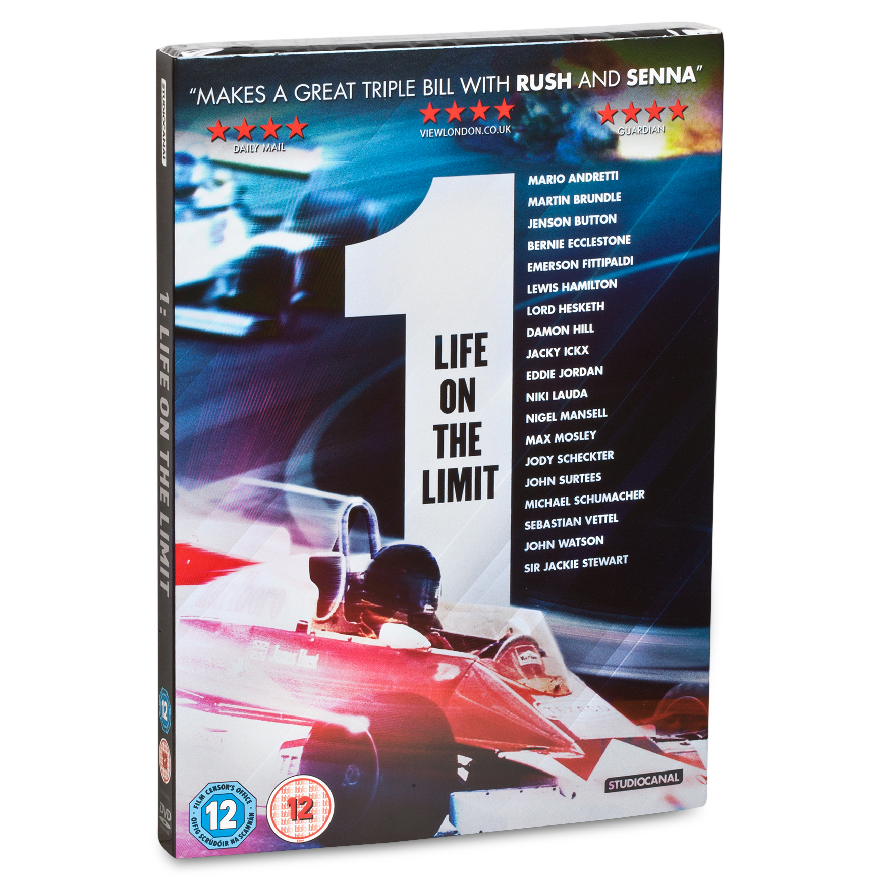 Formula One Life On The Limit - DVD