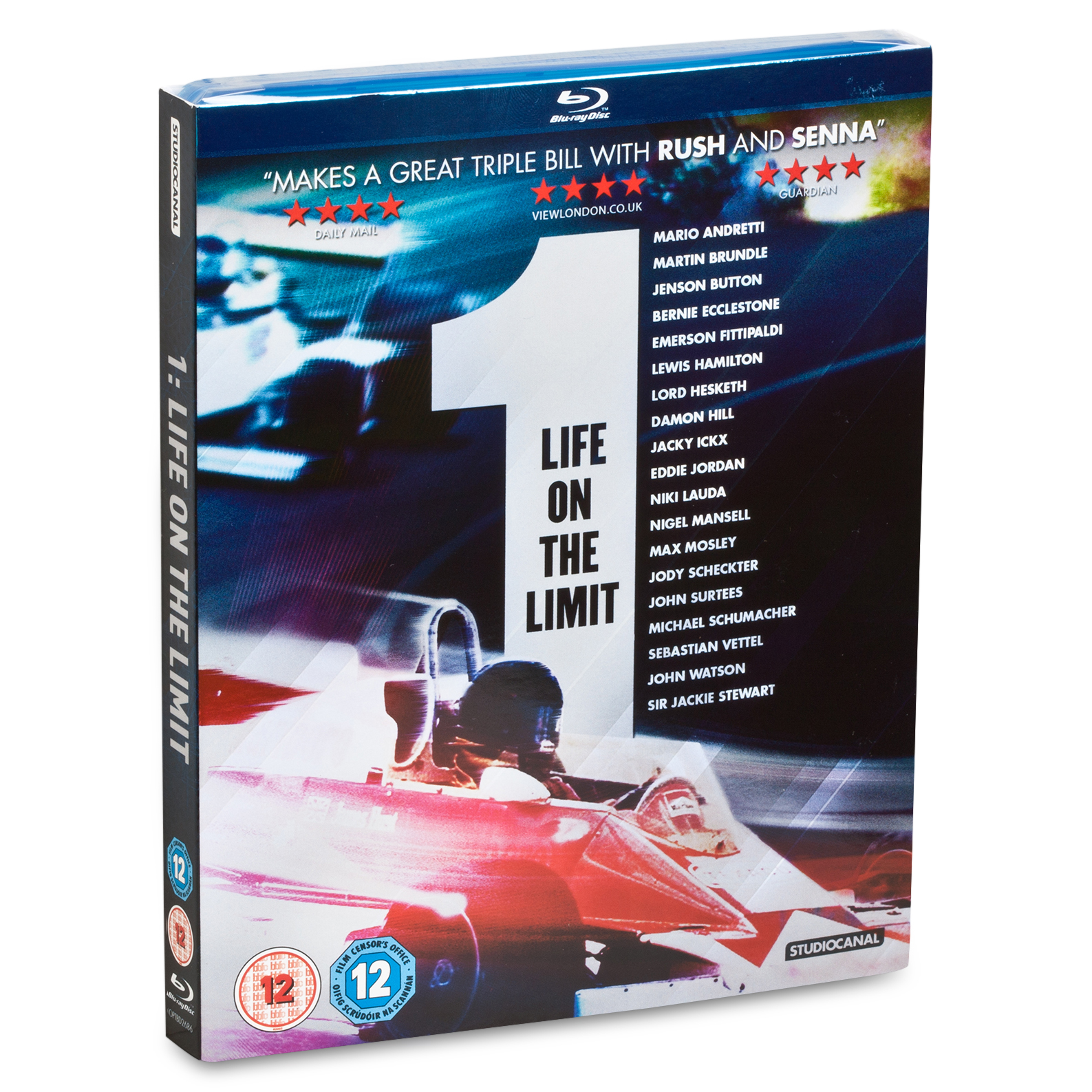 Formula One Life On The Limit - Blu-Ray