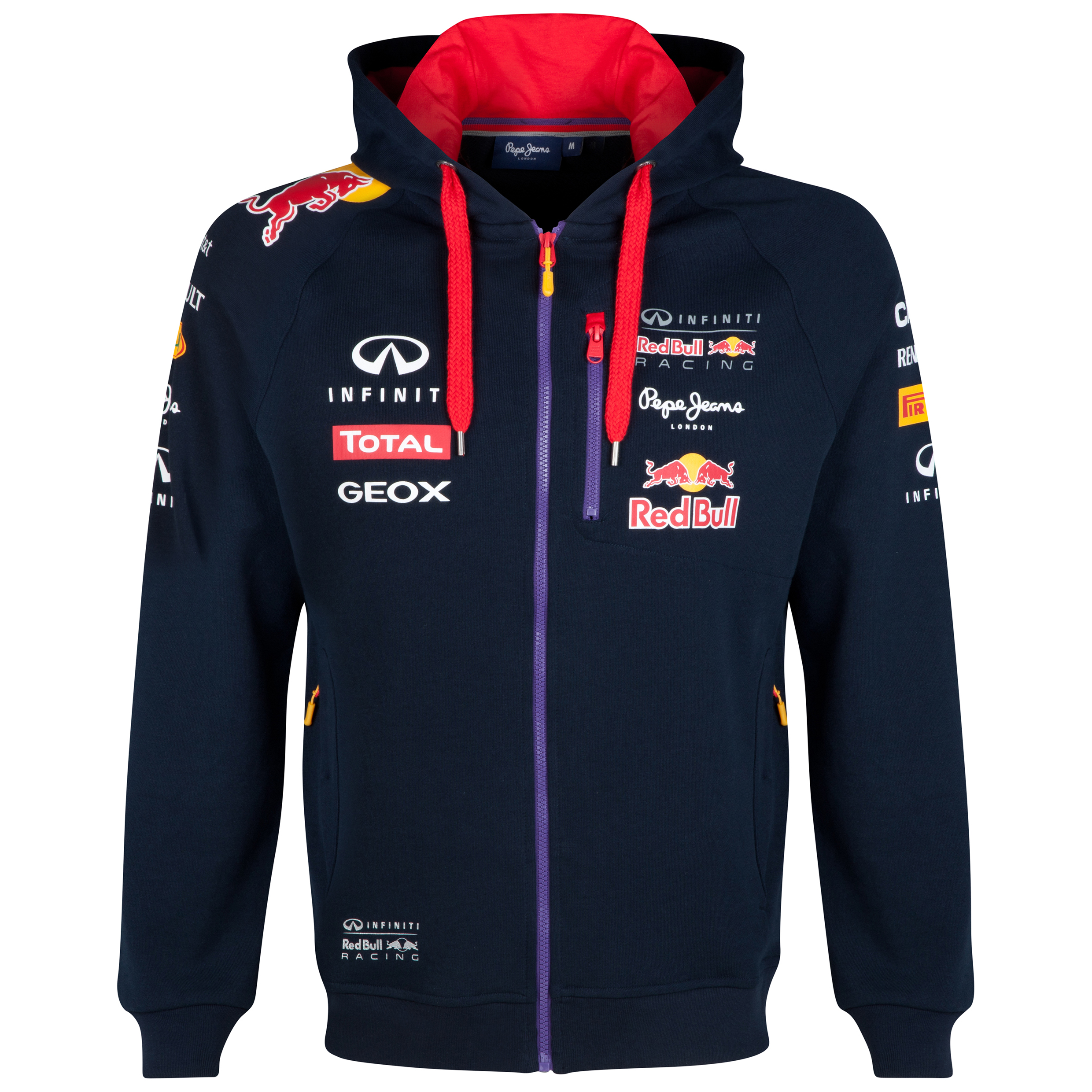 Infiniti Red Bull Racing Official Teamline Sweat Jacket