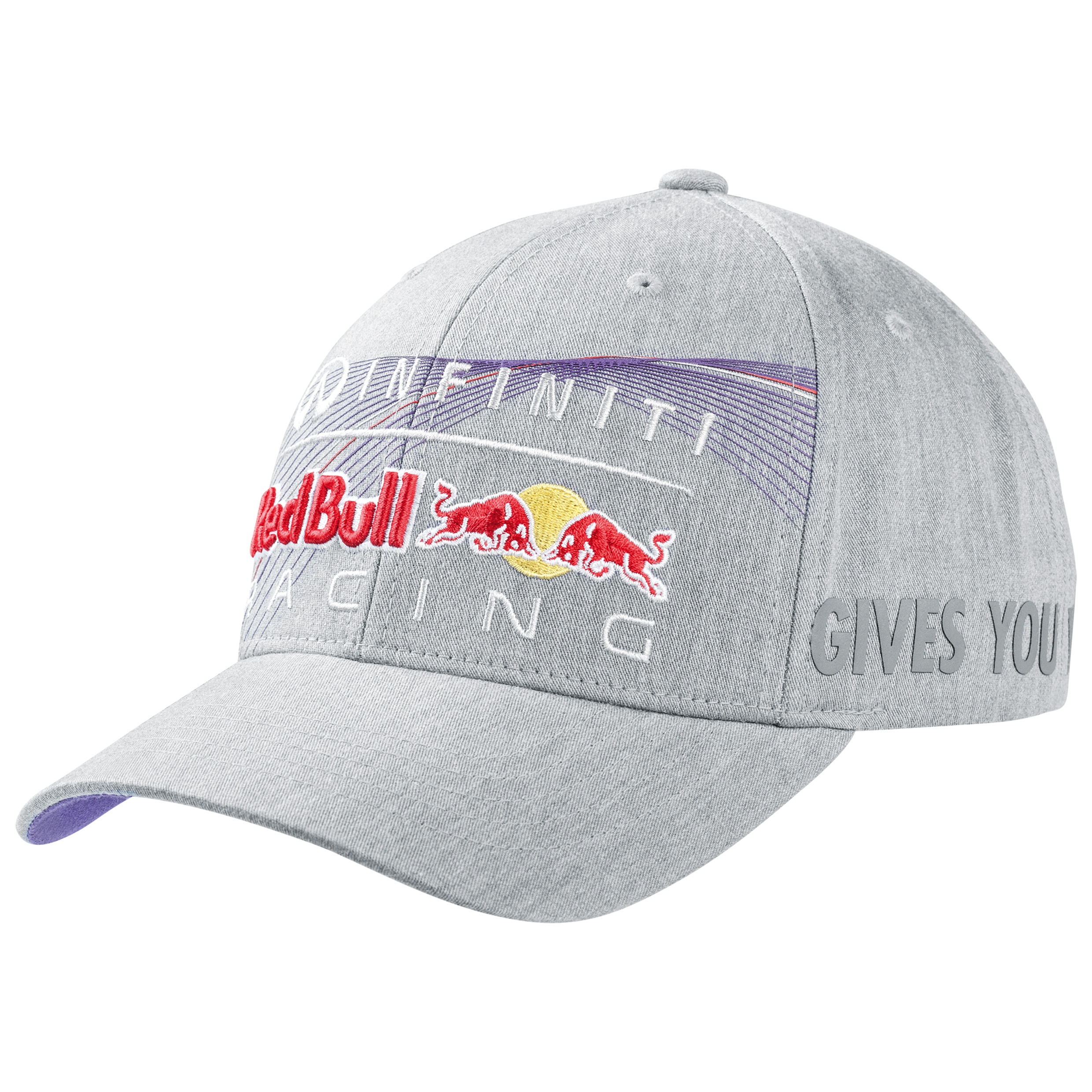 Infiniti Red Bull Racing Race Logo Cap Grey