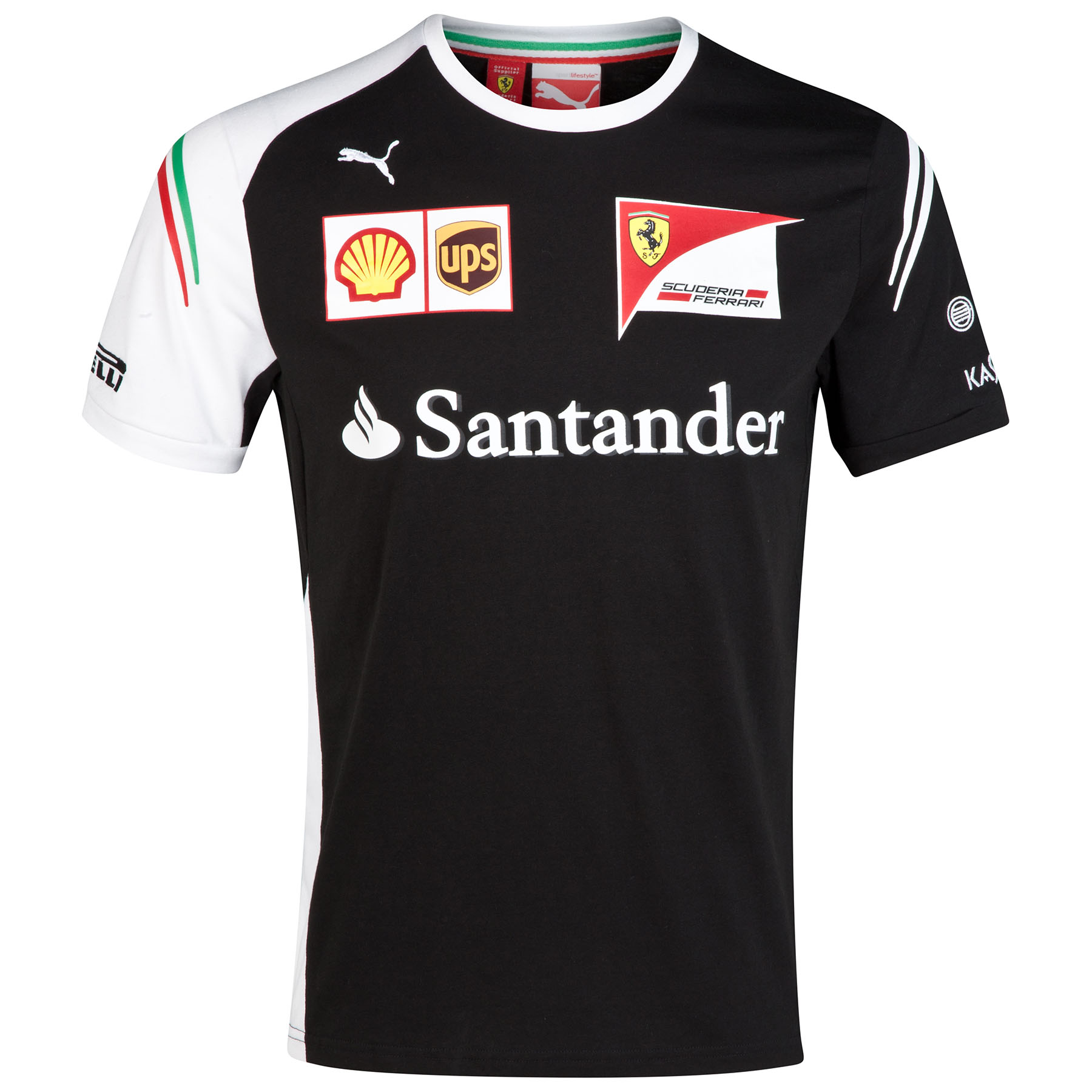 Scuderia Ferrari Team T-Shirt - Black