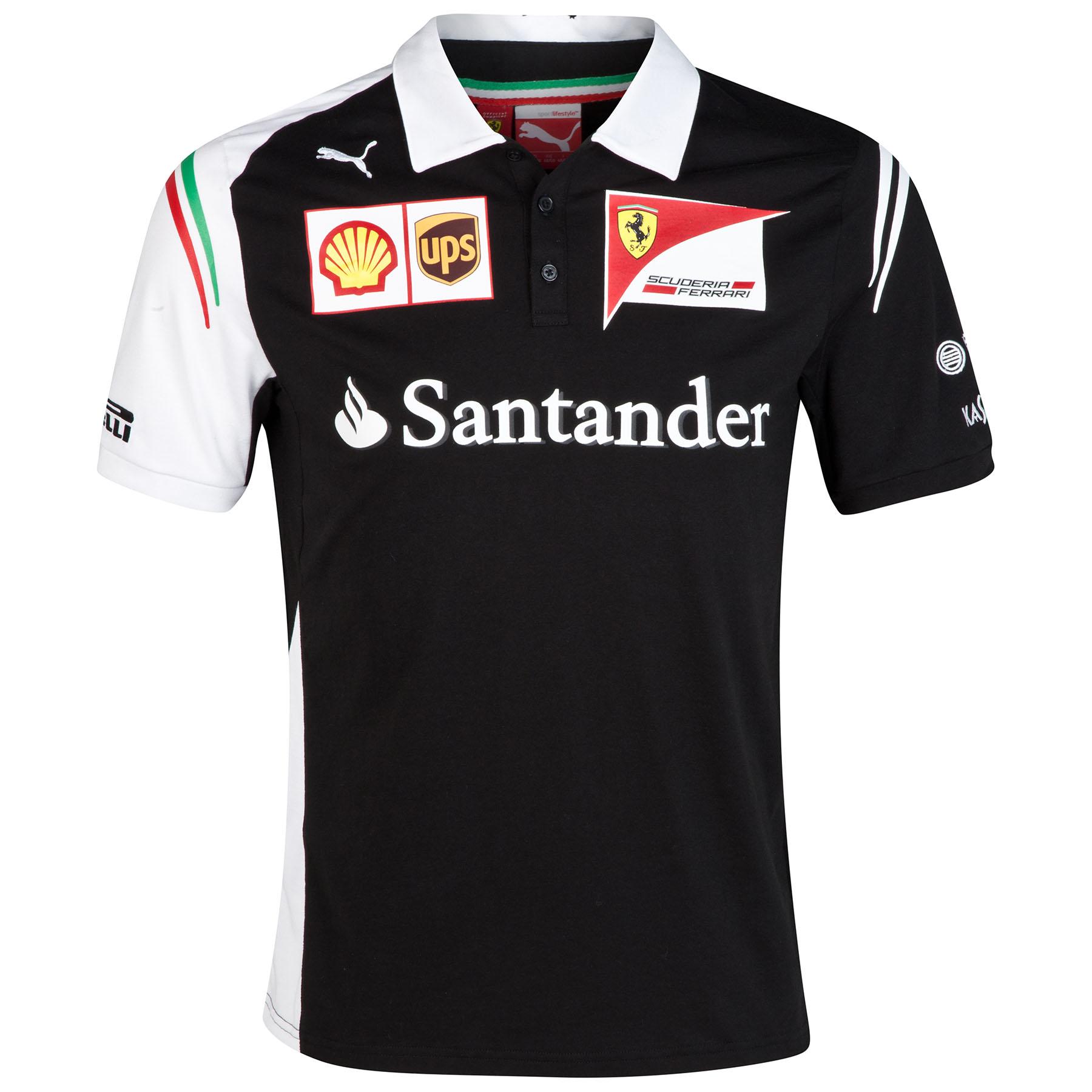 Scuderia Ferrari Team Polo - Black