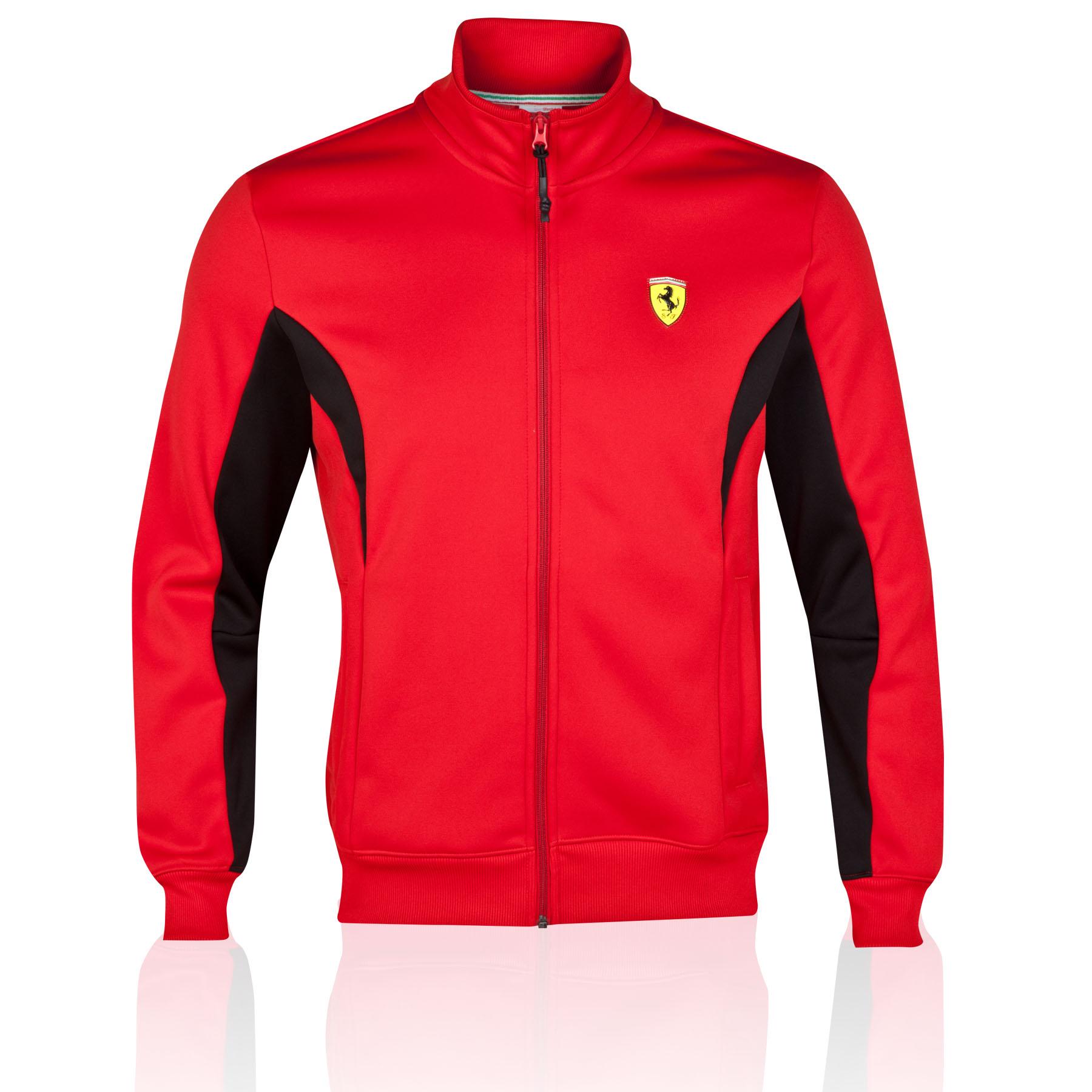 Scuderia Ferrari Softshell Jacket - Red