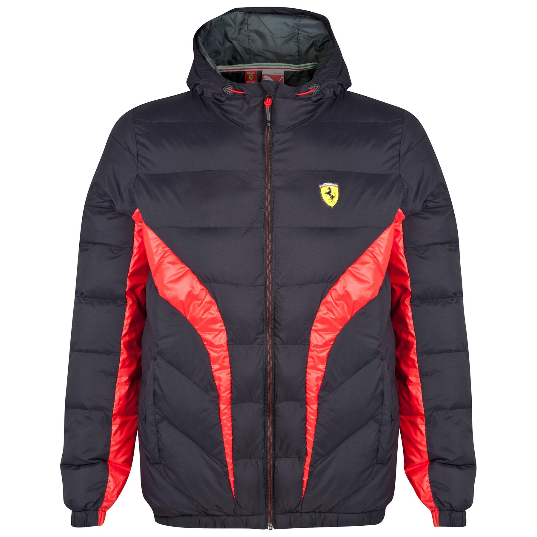 Scuderia Ferrari Padded Jacket - Black