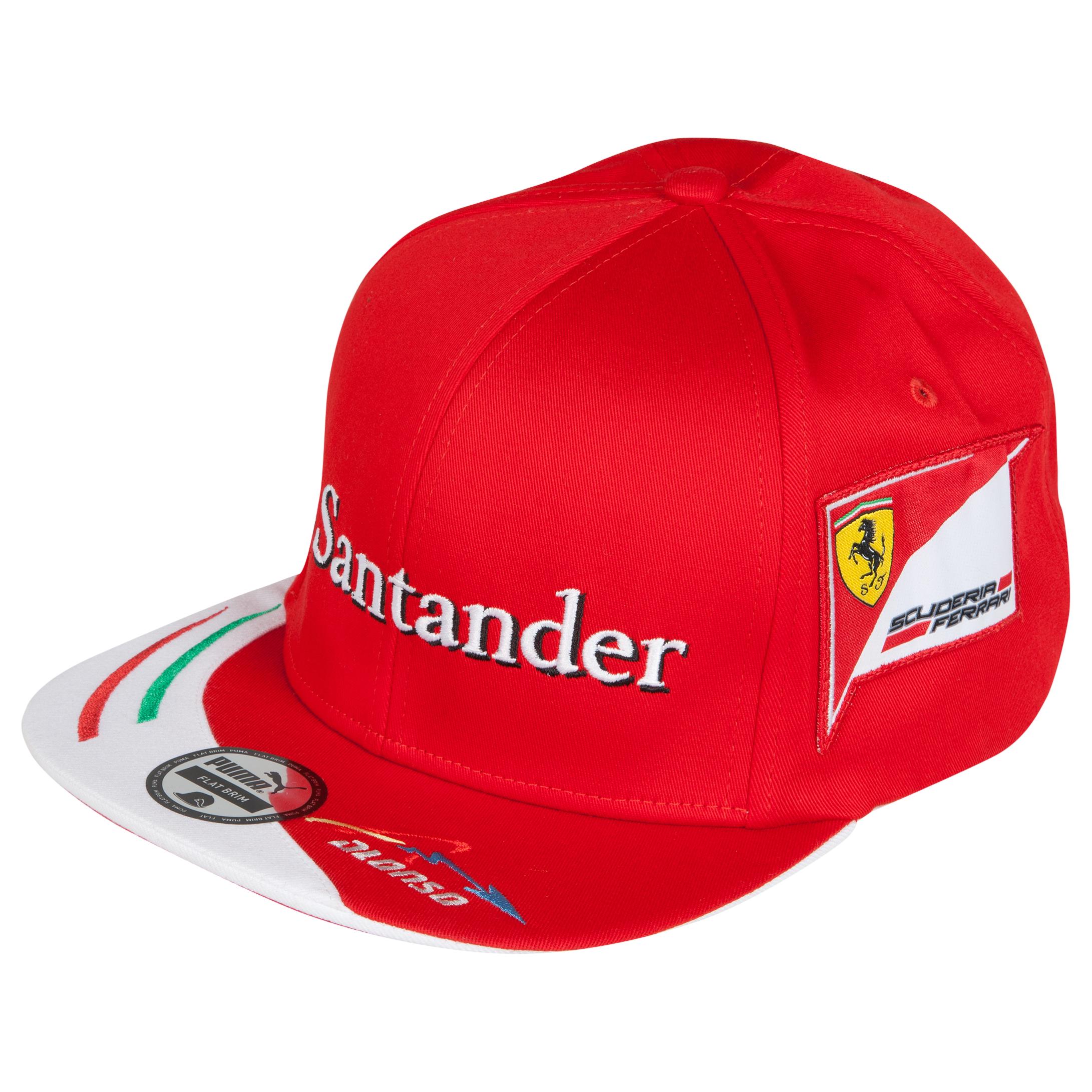 Scuderia Ferrari Alonso Driver Cap