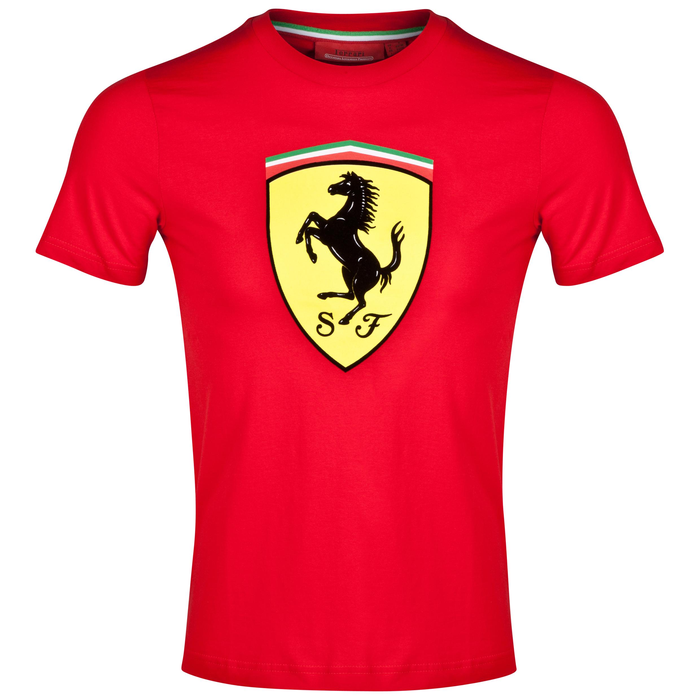 Scuderia Ferrari Classic T-Shirt - Red