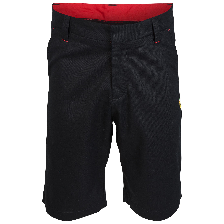 Scuderia Ferrari Bermuda Shorts Black