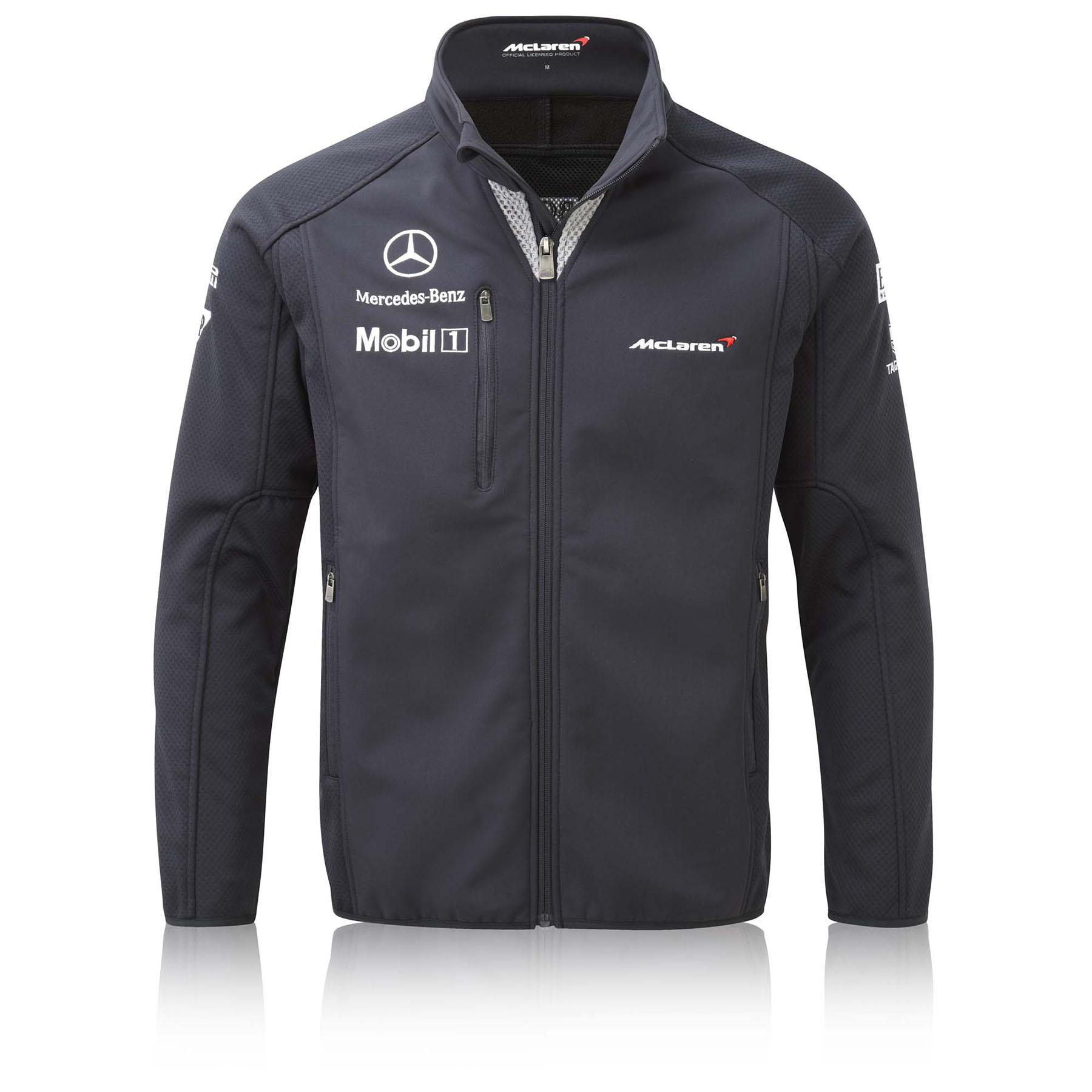 McLaren Mercedes 2014 Team Softshell Jacket