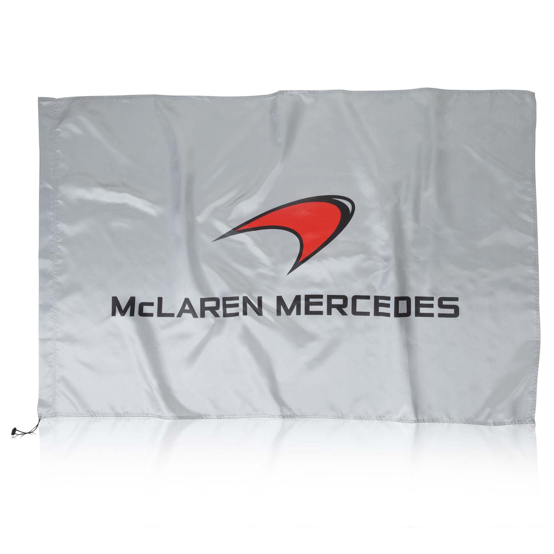 McLaren Mercedes Flag