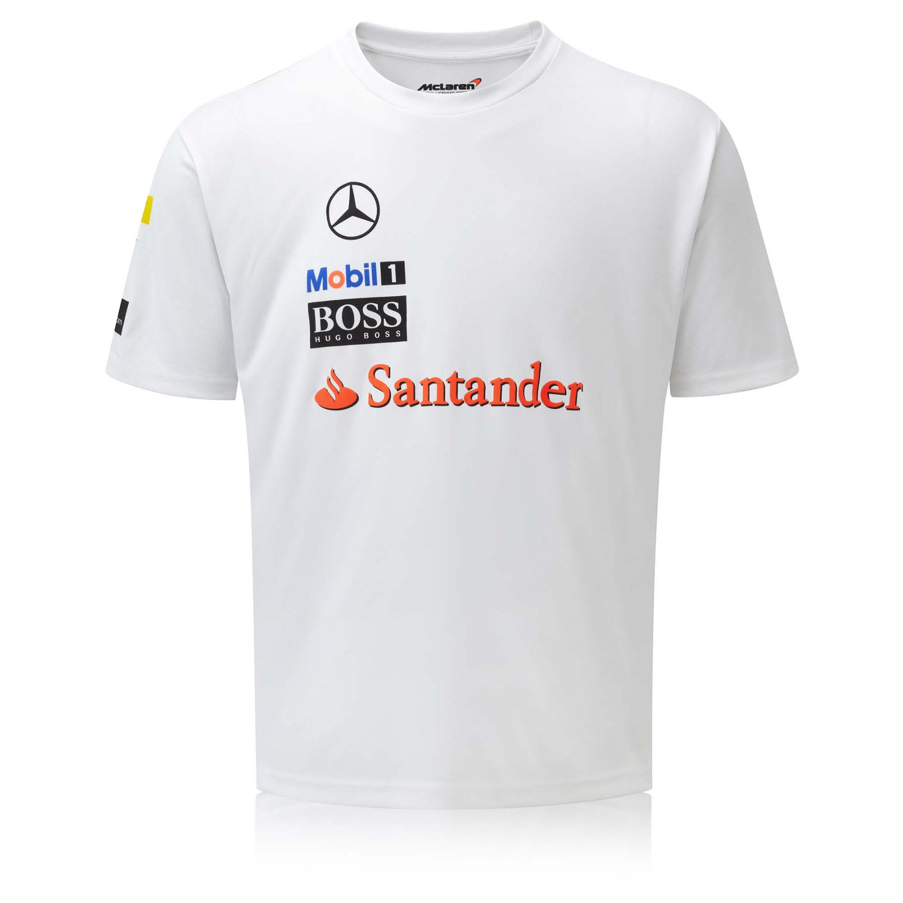 McLaren Mercedes 2014 Sponsor T-Shirt