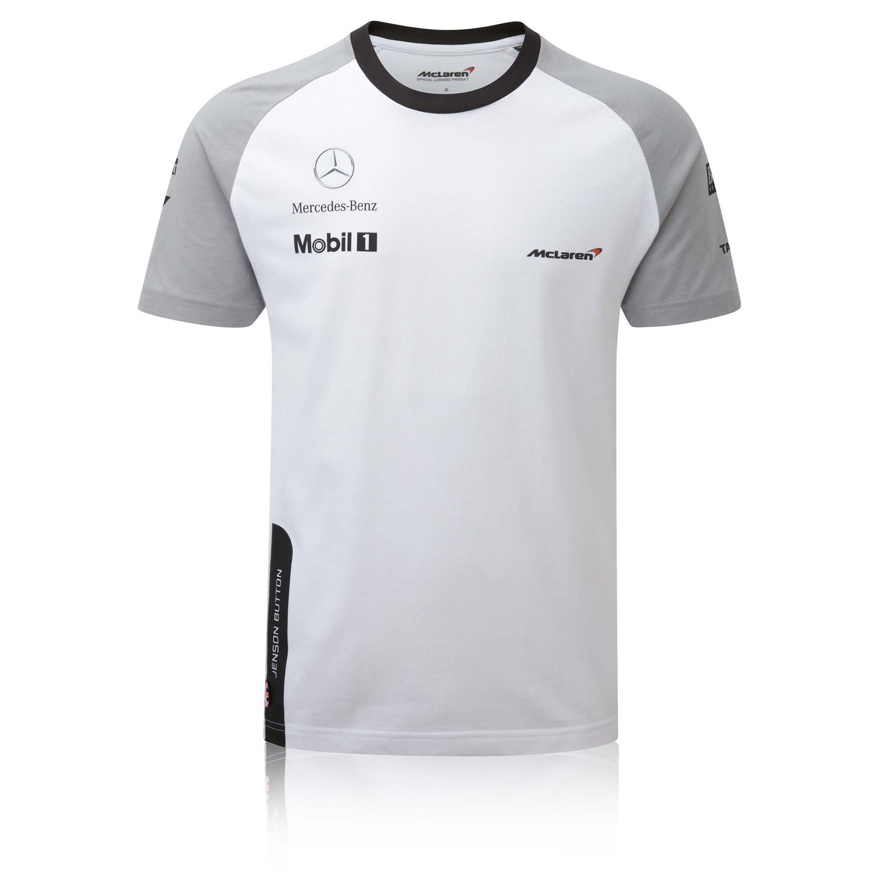Team McLaren Button Cotton T-Shirt - Kids