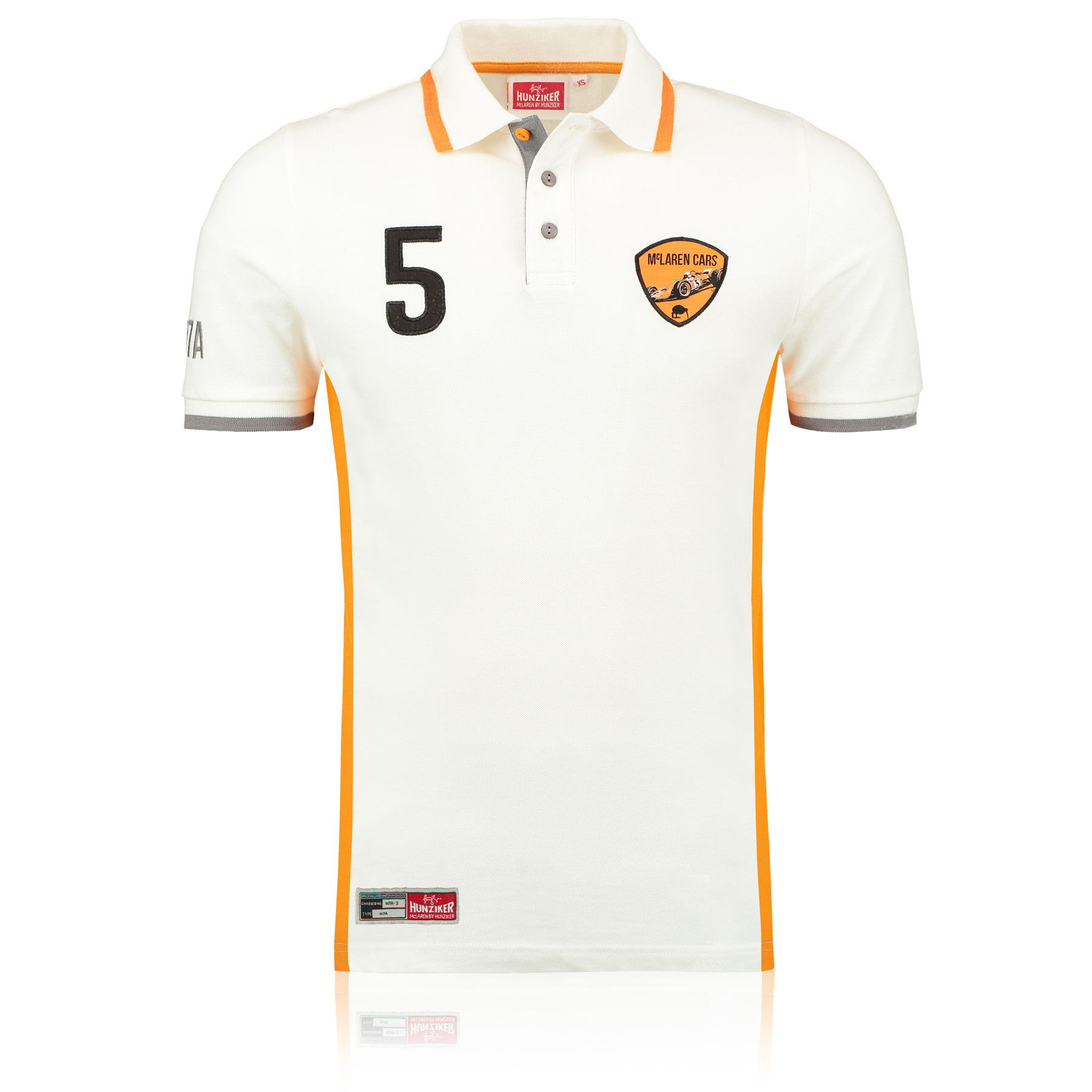 Team McLaren by Hunziker M7A 1968 Polo Shirt White