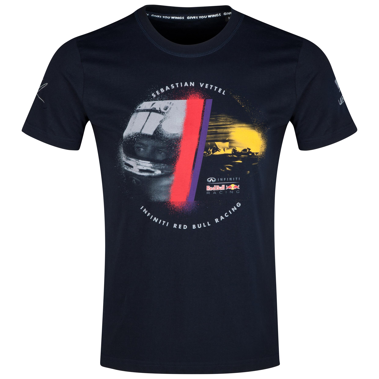 Infiniti Red Bull Racing Sebastian Vettel Driver T-Shirt
