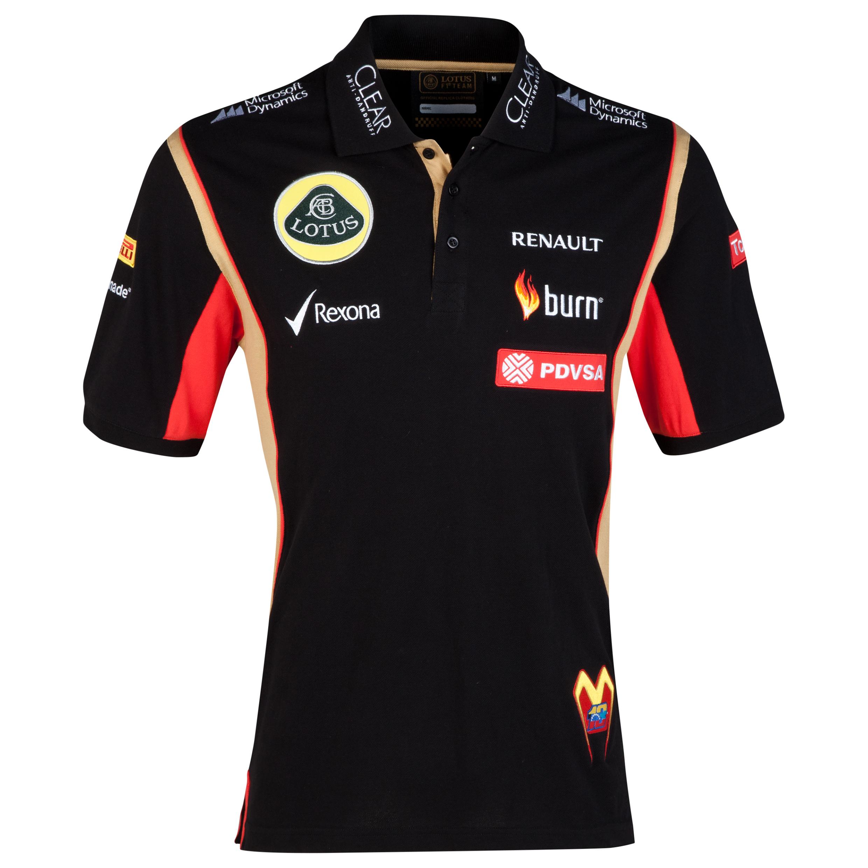 Lotus F1 Driver Replica Polo - Maldonado