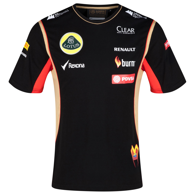 Lotus F1 Driver Replica T-Shirt - Maldonado
