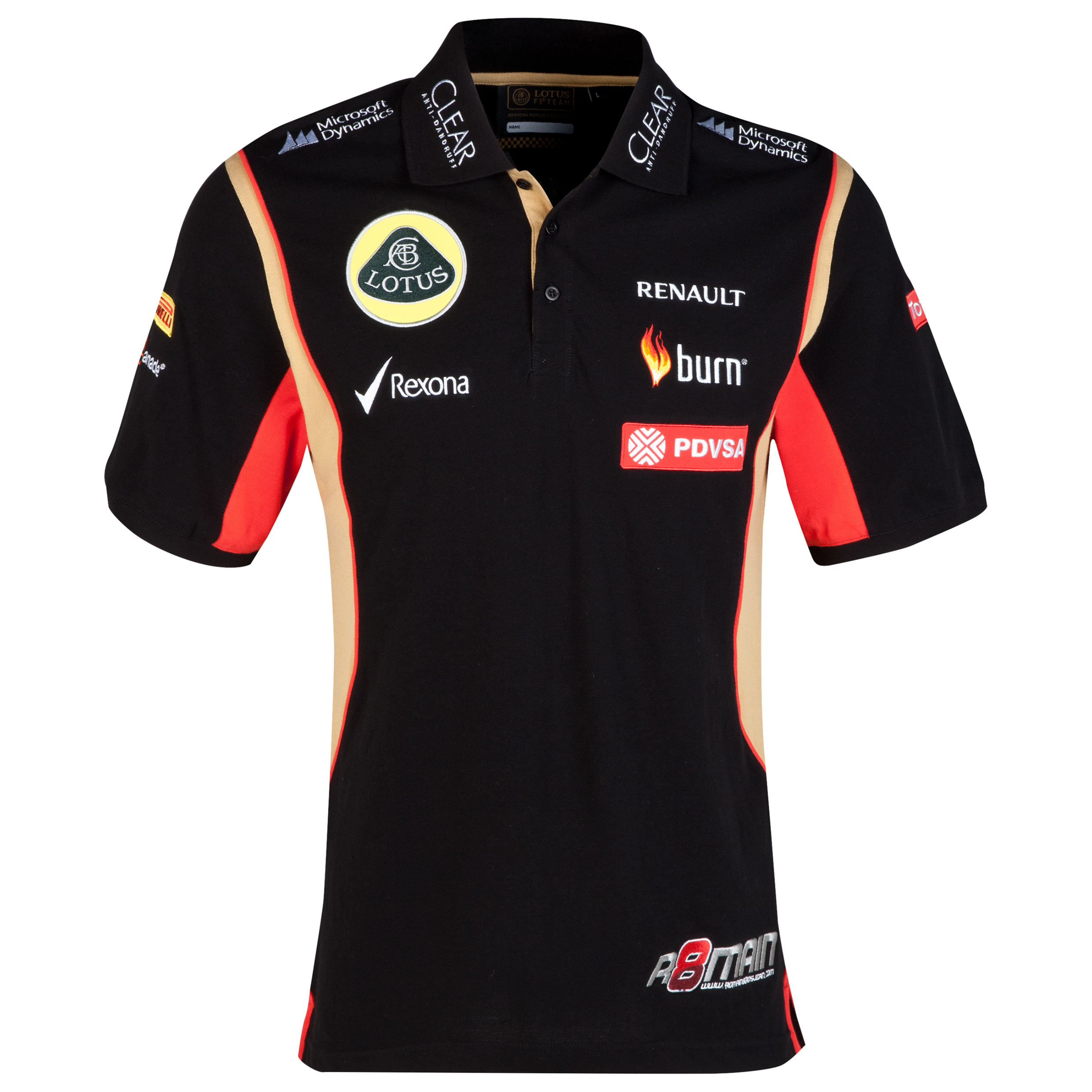 Lotus F1 Driver Replica Polo - Grosjean