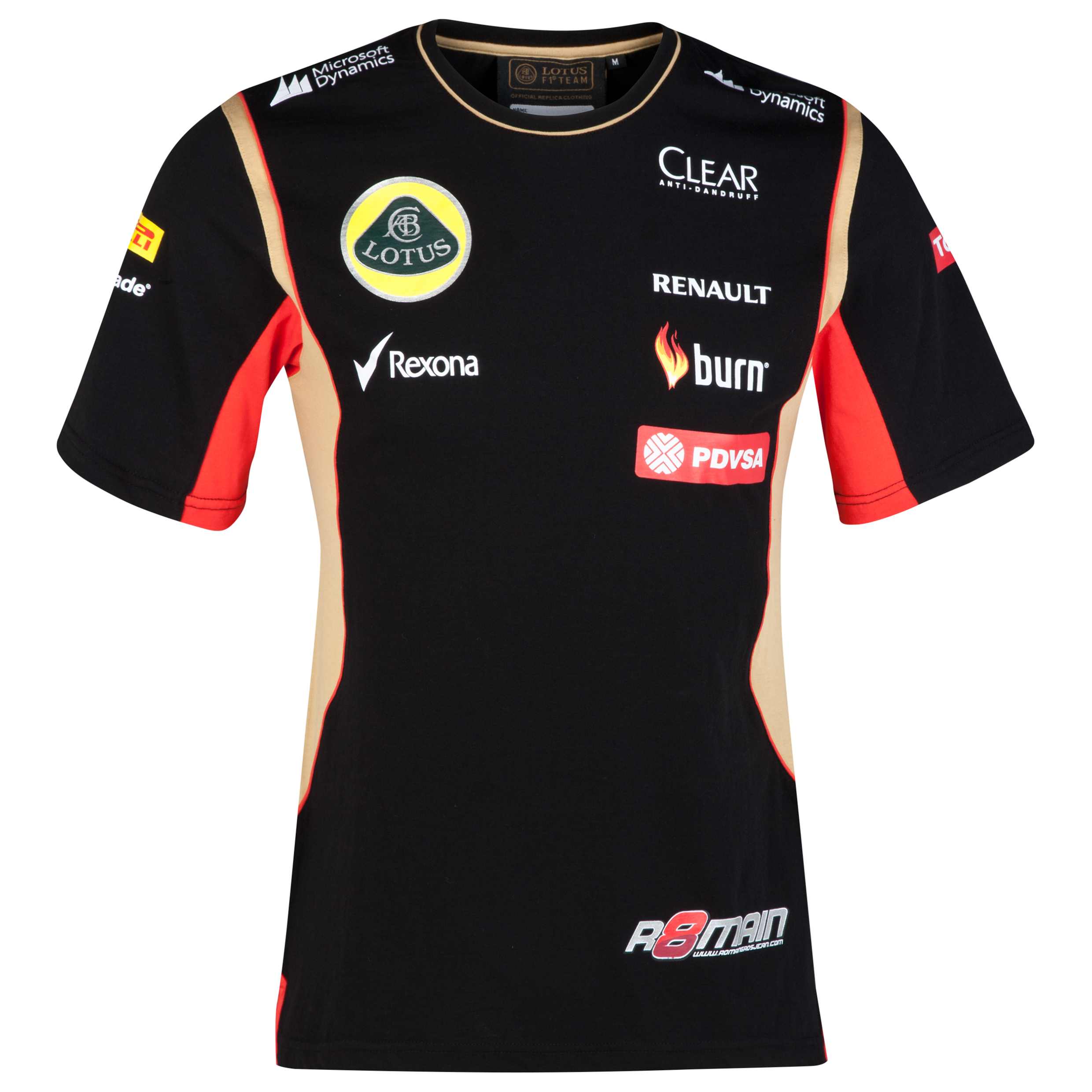 Lotus F1 Driver Replica T-Shirt - Grosjean