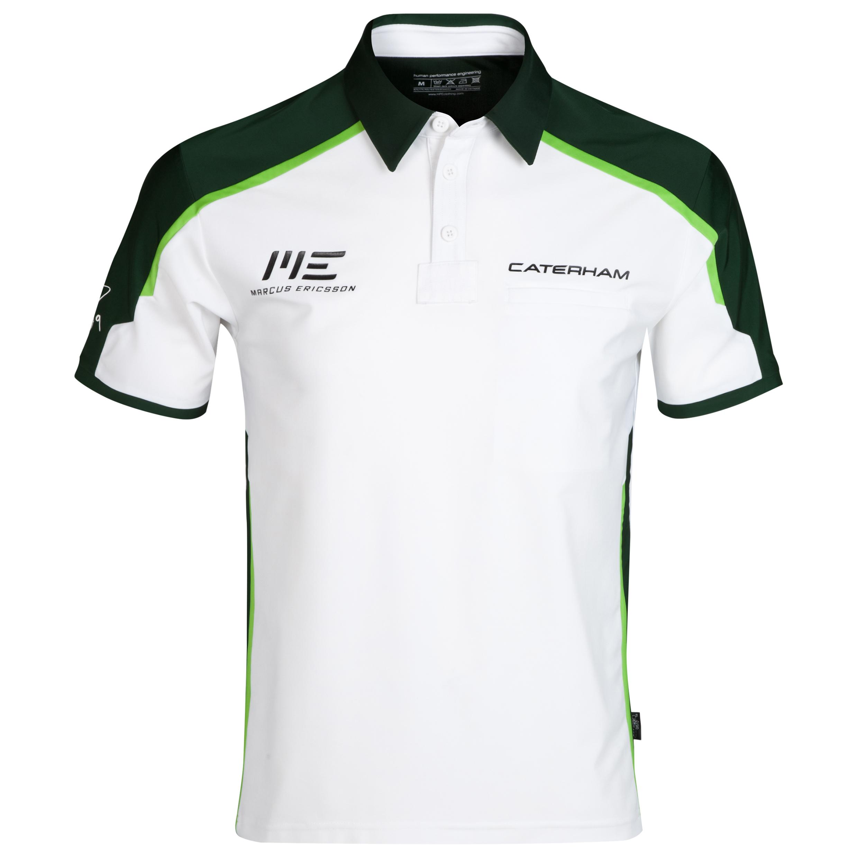 Caterham F1 Marcus Ericsson Driver Polo
