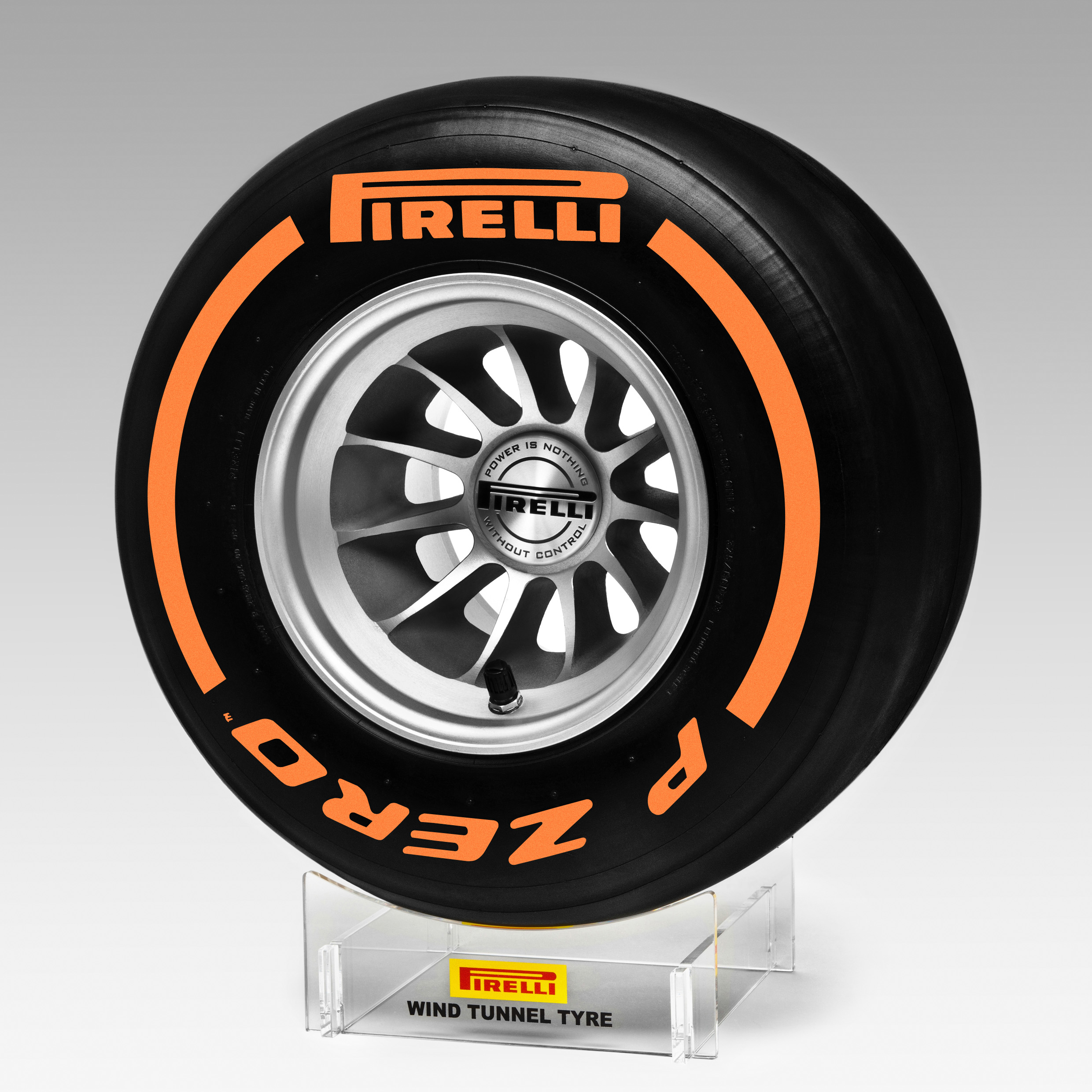Pirelli Hard Replica Wind Tunnel Tyre 1:2 Scale