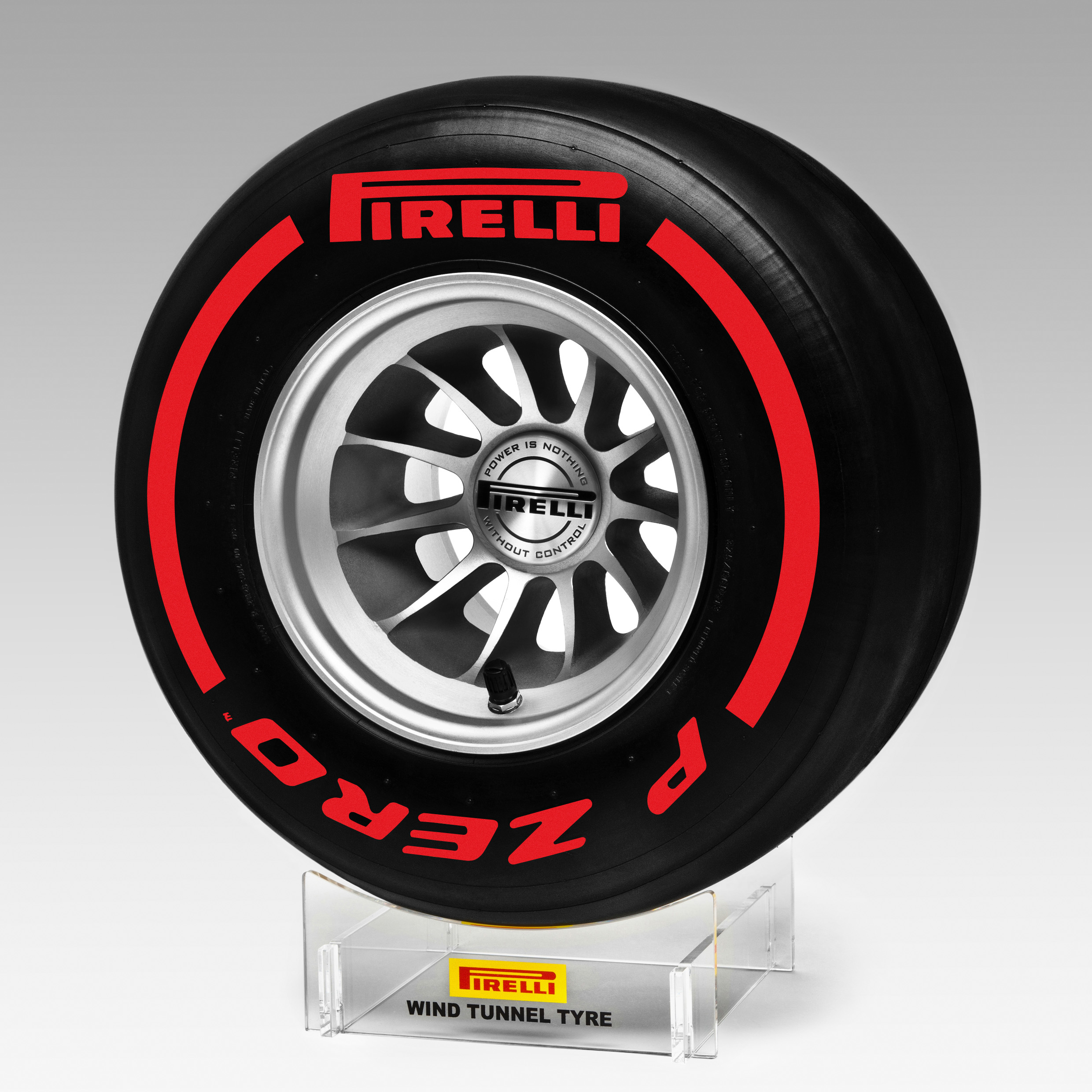 Pirelli Super Soft Replica Wind Tunnel Tyre 1:2 Scale