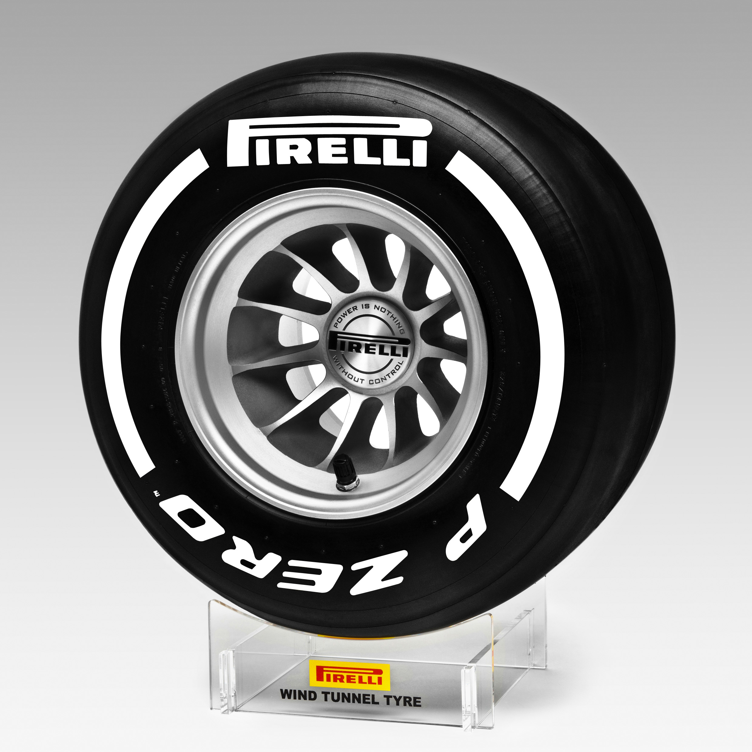 Pirelli Medium Replica Wind Tunnel Tyre 1:2 Scale