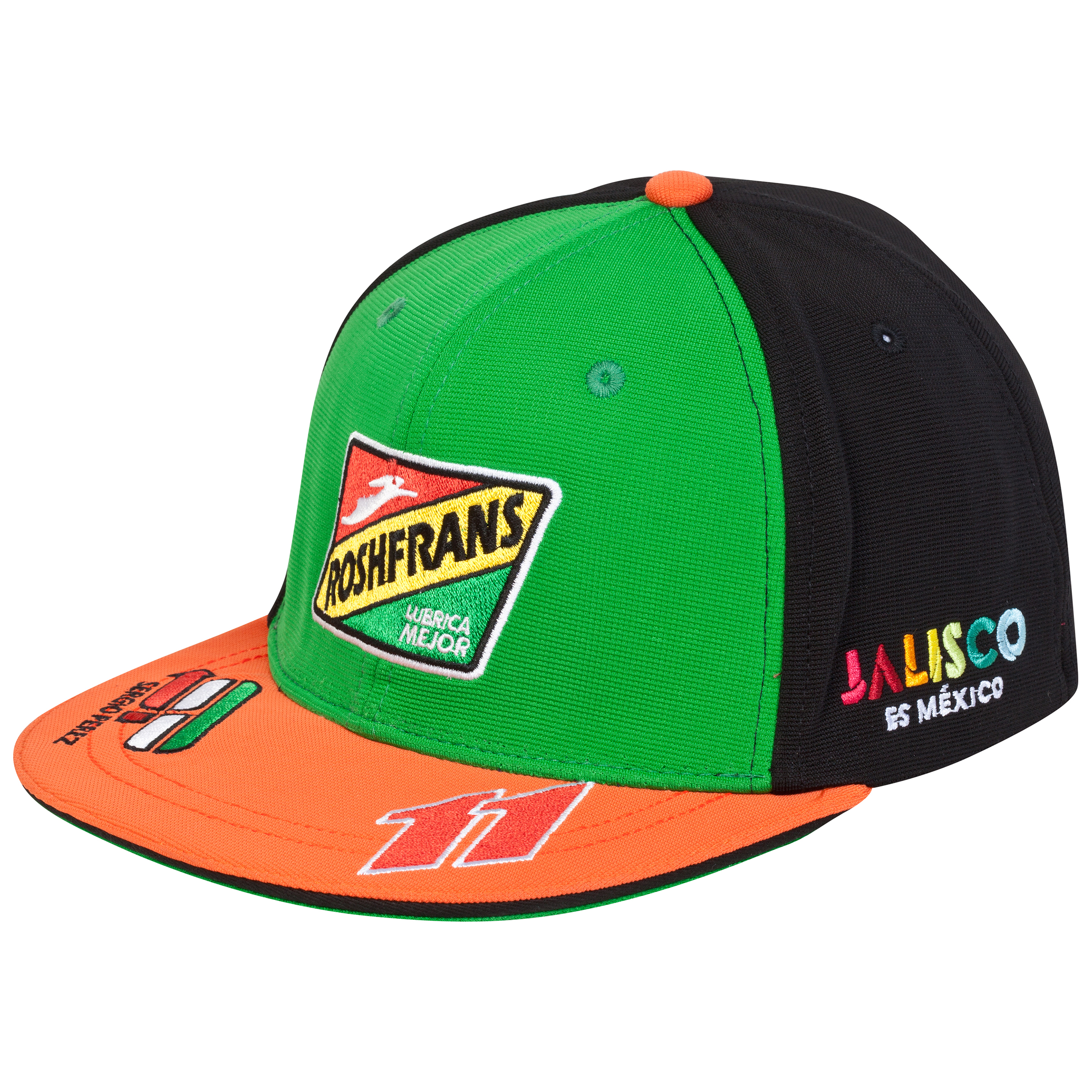 Sahara Force India Sergio Perez Sponsor Cap