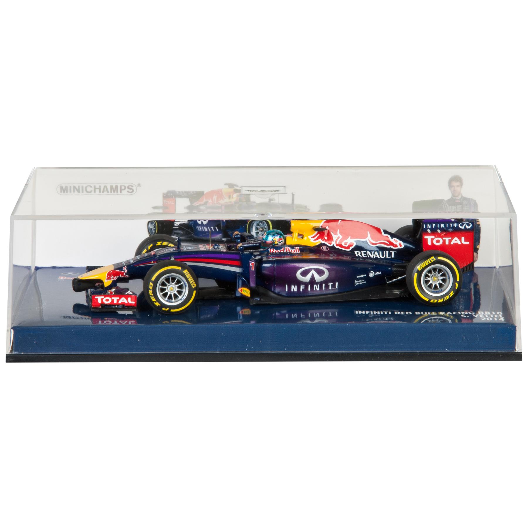 Infiniti Red Bull Racing Renault RB10 Sebastian Vettel 2014 - 1:43 Scale