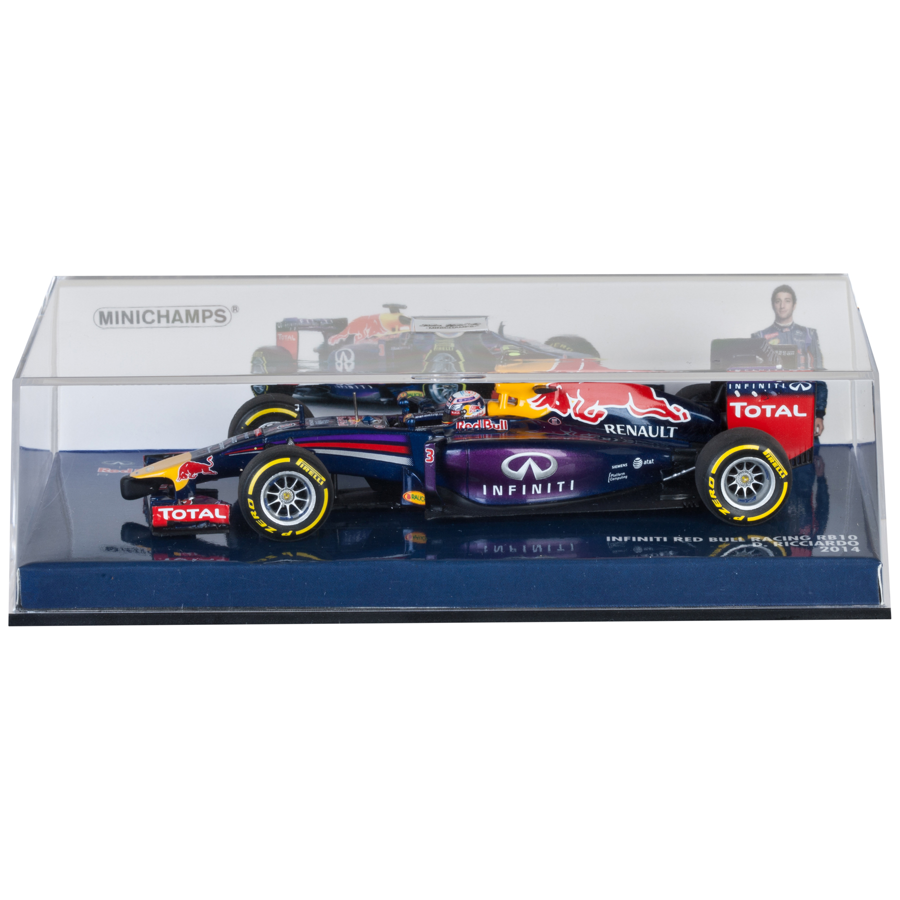 Infiniti Red Bull Racing Renault RB10 Daniel Ricciardo 2014 - 1:43 Scale