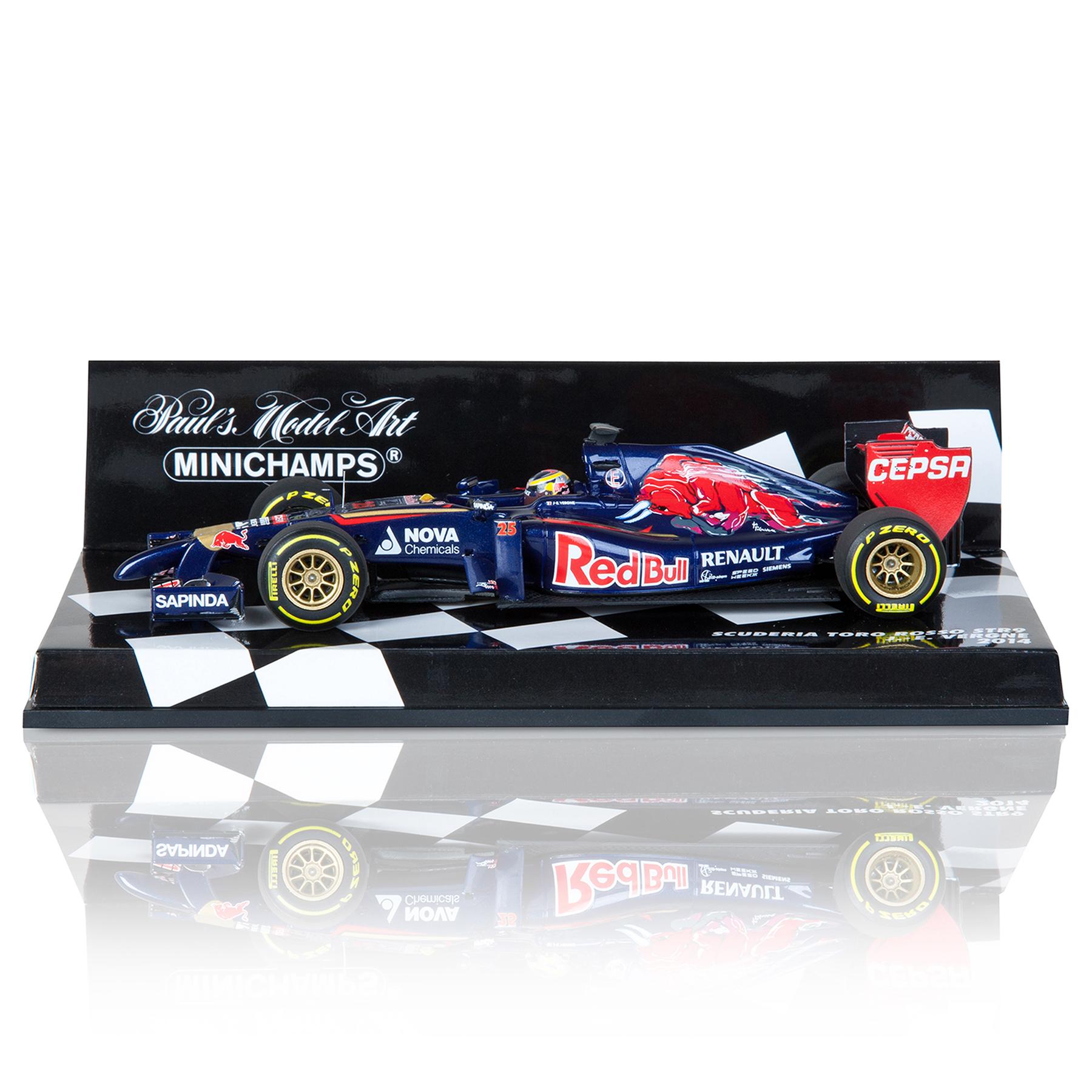Scuderia Toro Rosso F1 STR9 Jean-Eric Vergne 2014 - 1:43 Scale