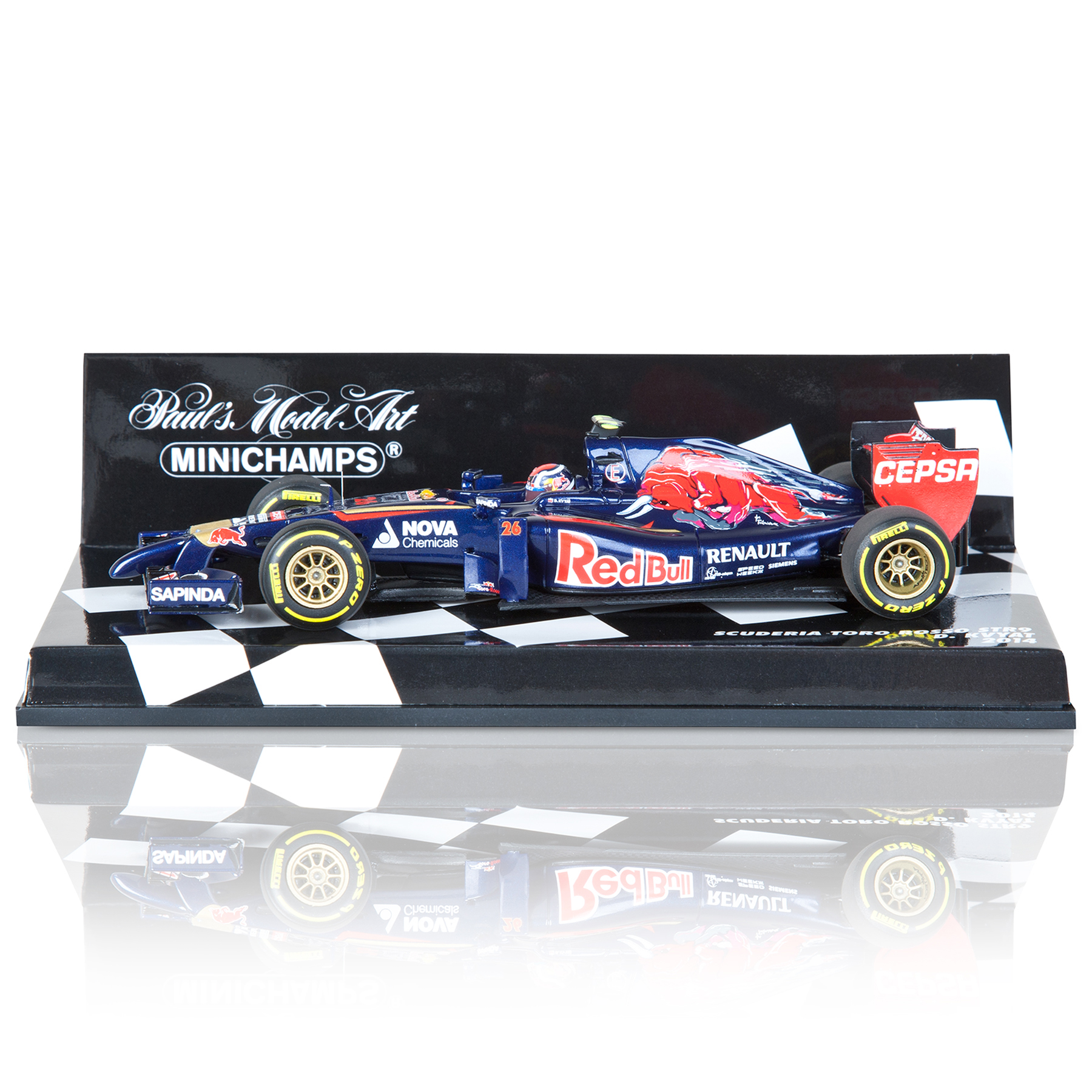 Scuderia Toro Rosso F1 STR9 Daniil Kvyat 2014 - 1:43 Scale