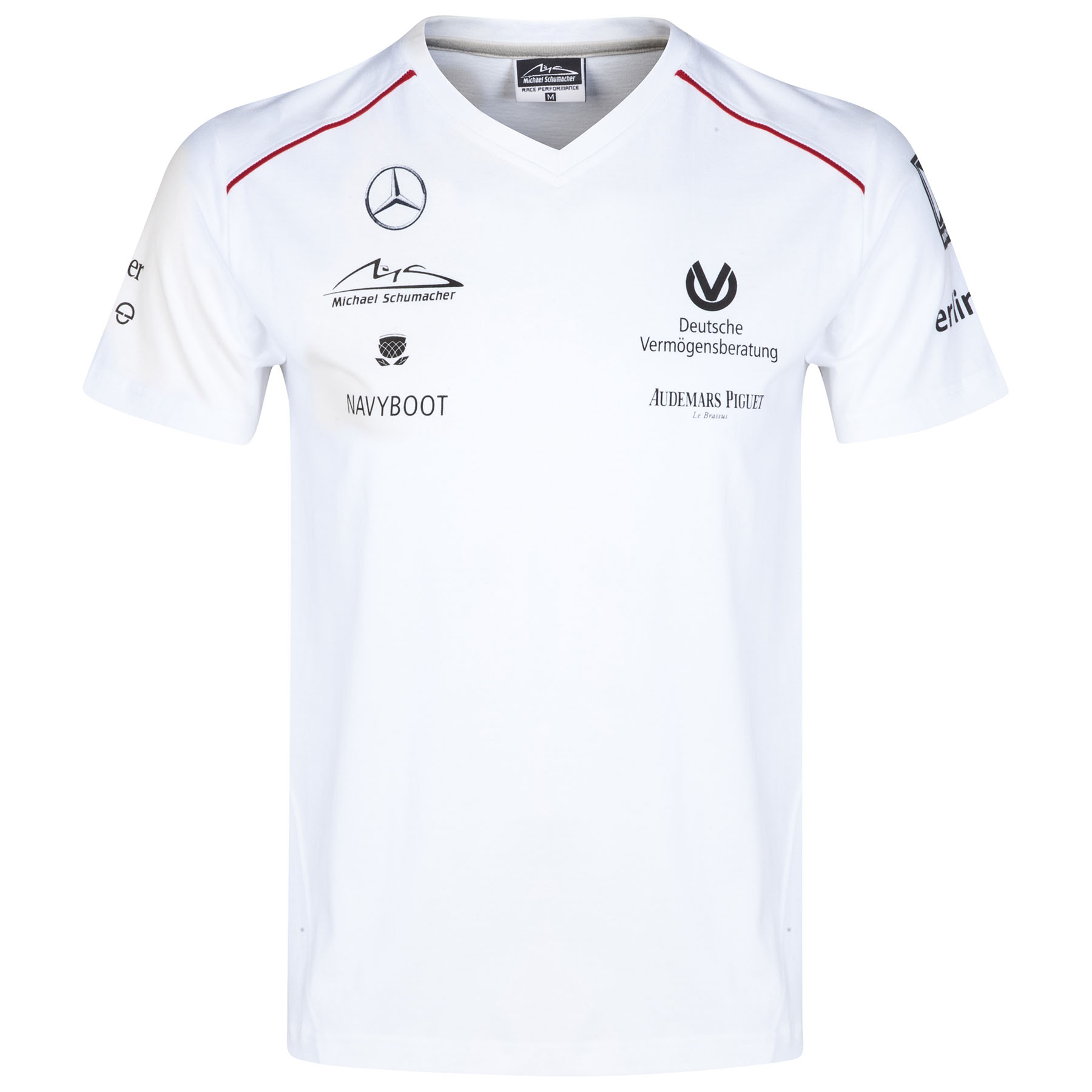 Michael Schumacher Sponsor V-Neck T-Shirt