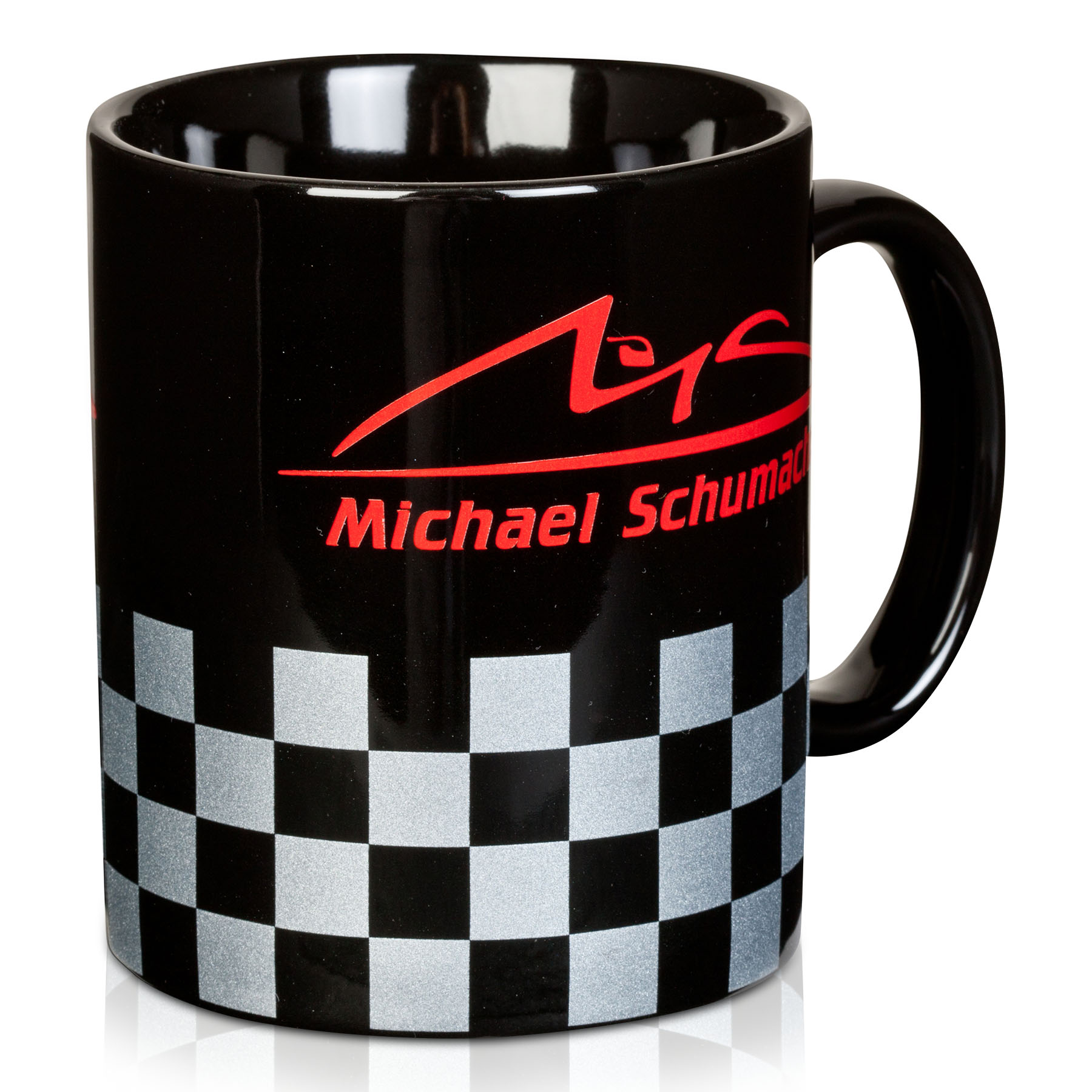 Michael Schumacher Chequered Mug
