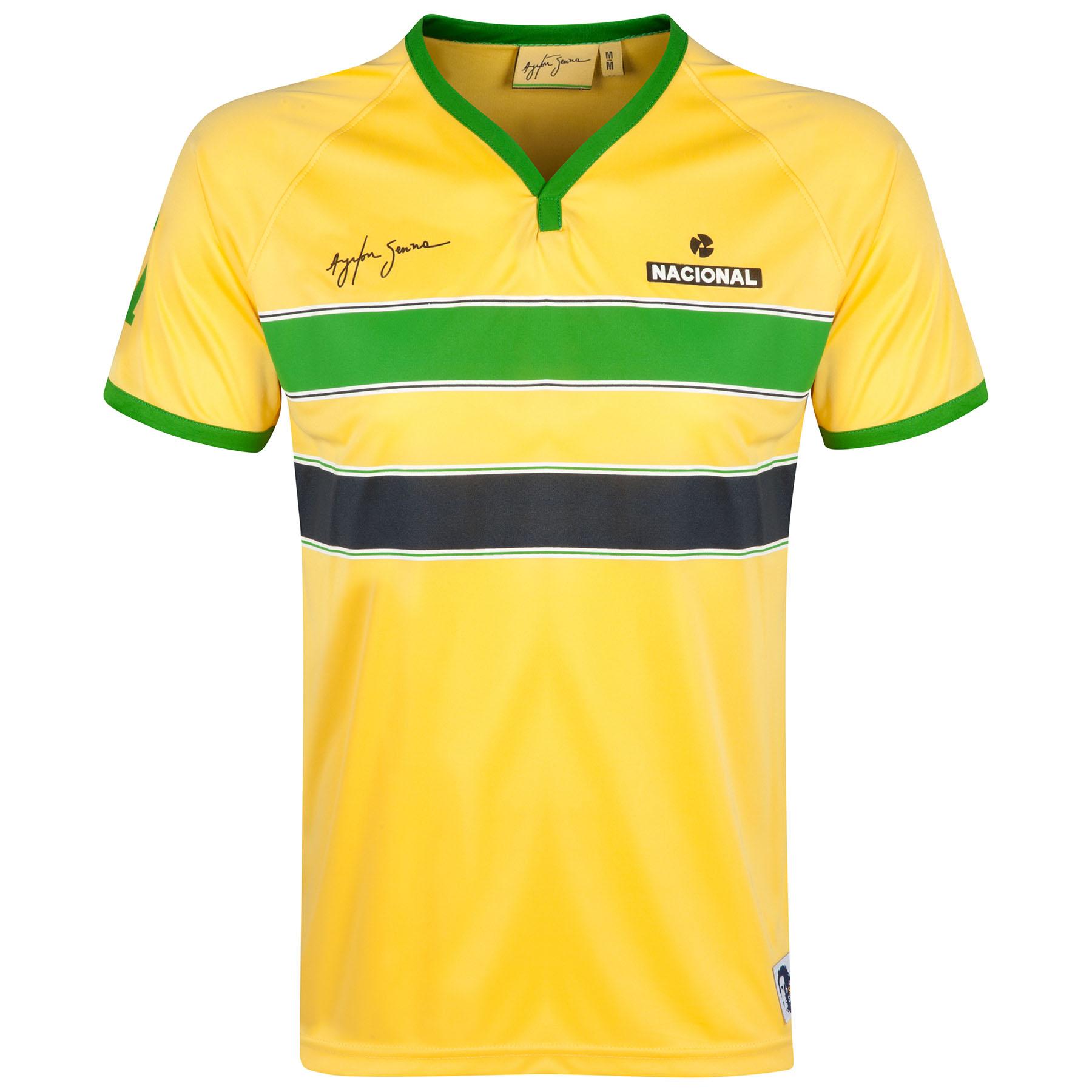 Ayrton Senna Senna Helmet T-Shirt