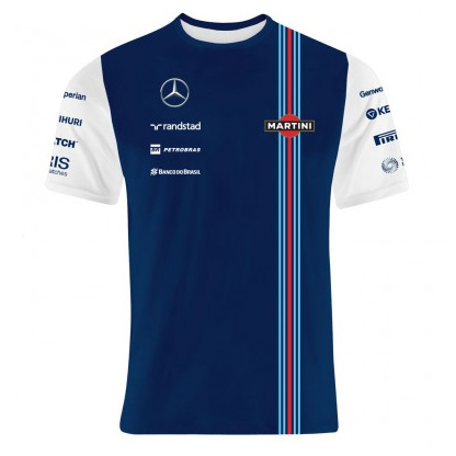 Williams Martini F1 Team Replica Performance T-Shirt