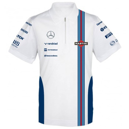 Williams Martini F1 Team Replica Performance Polo
