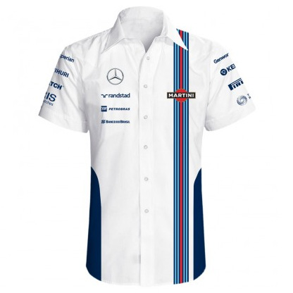Williams Martini F1 Team Replica Short Sleeve Shirt
