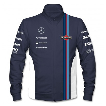 Williams Martini F1 Team Replica Track Jacket