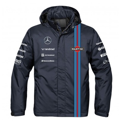 Williams Martini F1 Team Replica Rain Jacket