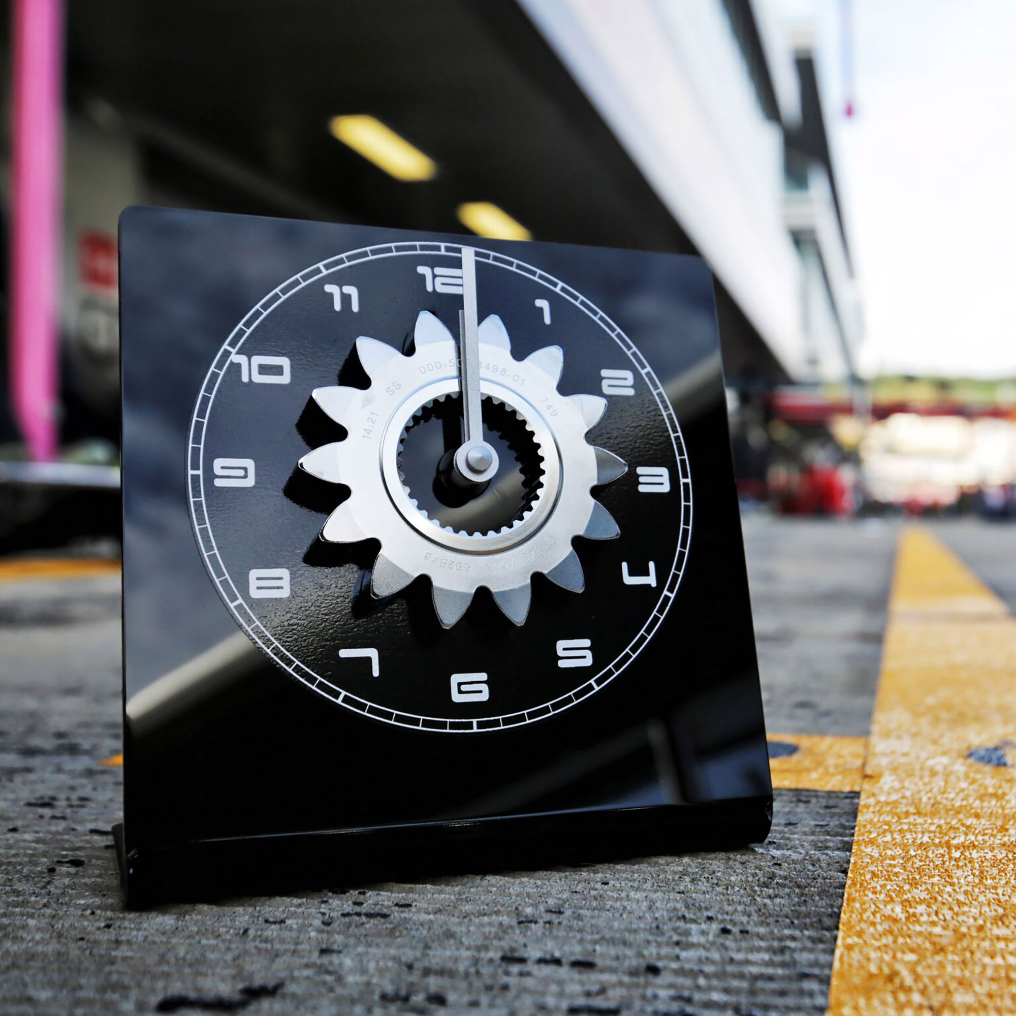 Lotus F1 Gear Ratio Clock