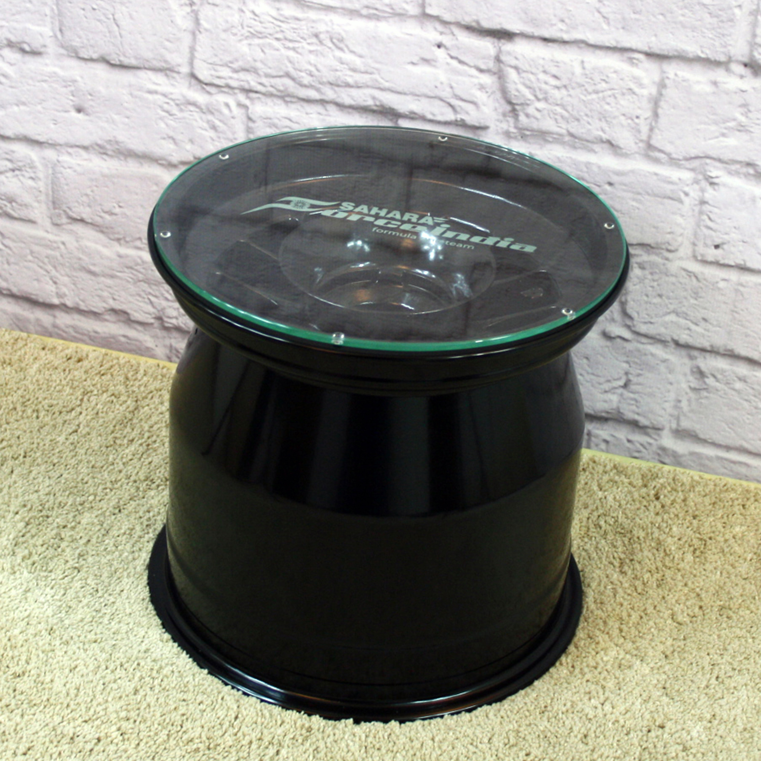 Sahara Force India Wheel Rim Table - Black