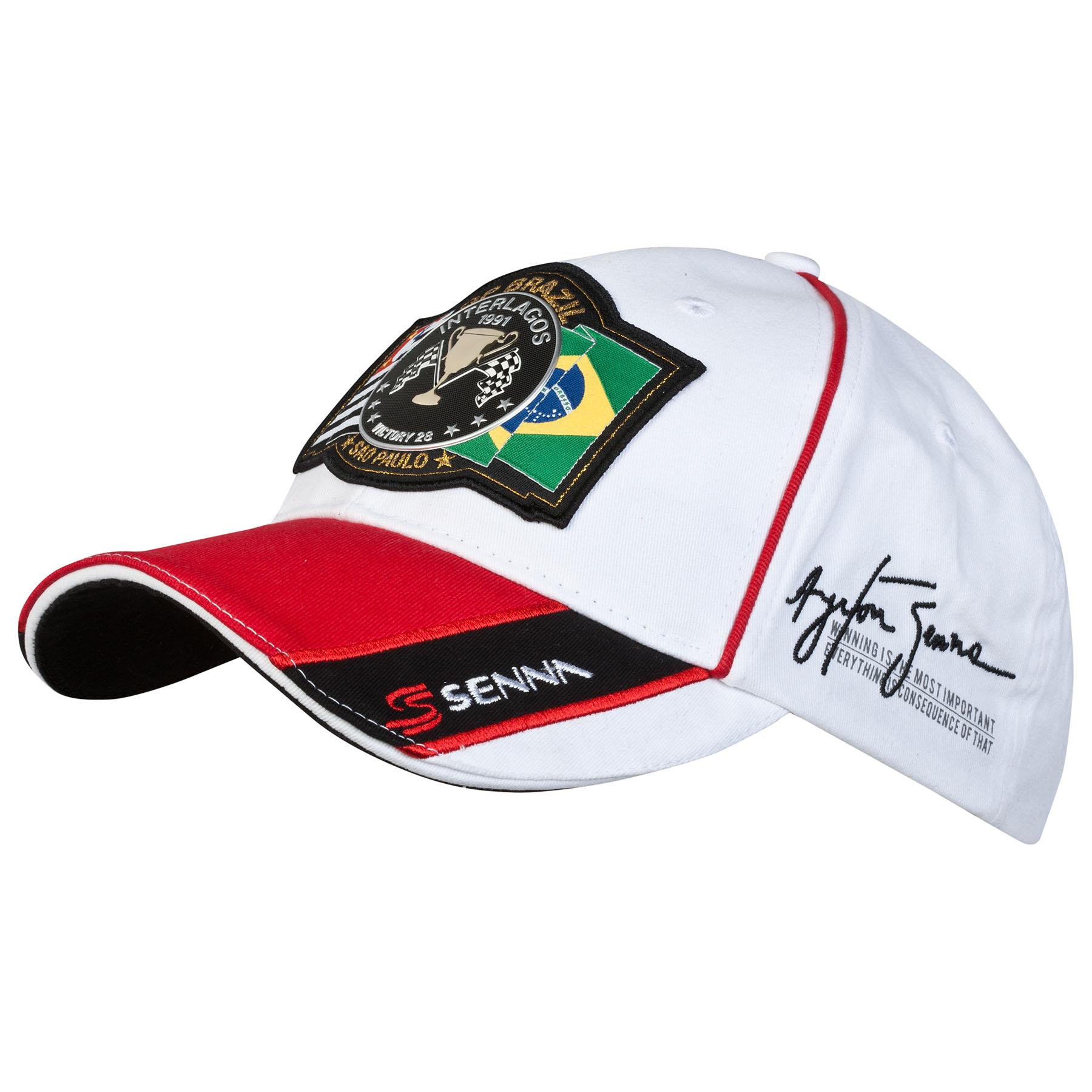 Ayrton Senna Interlagos Cap