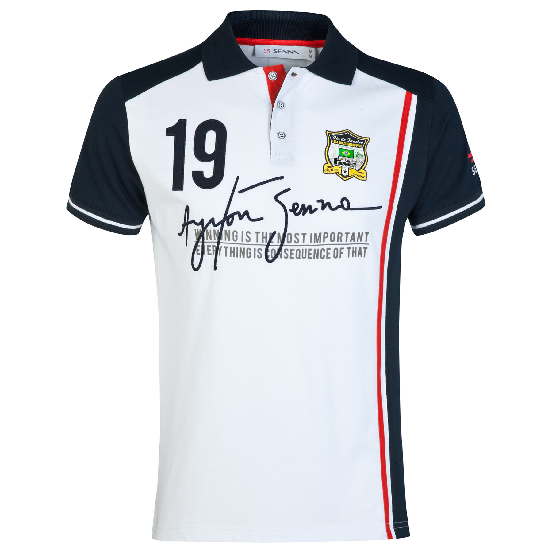 Ayrton Senna No. 19 Polo