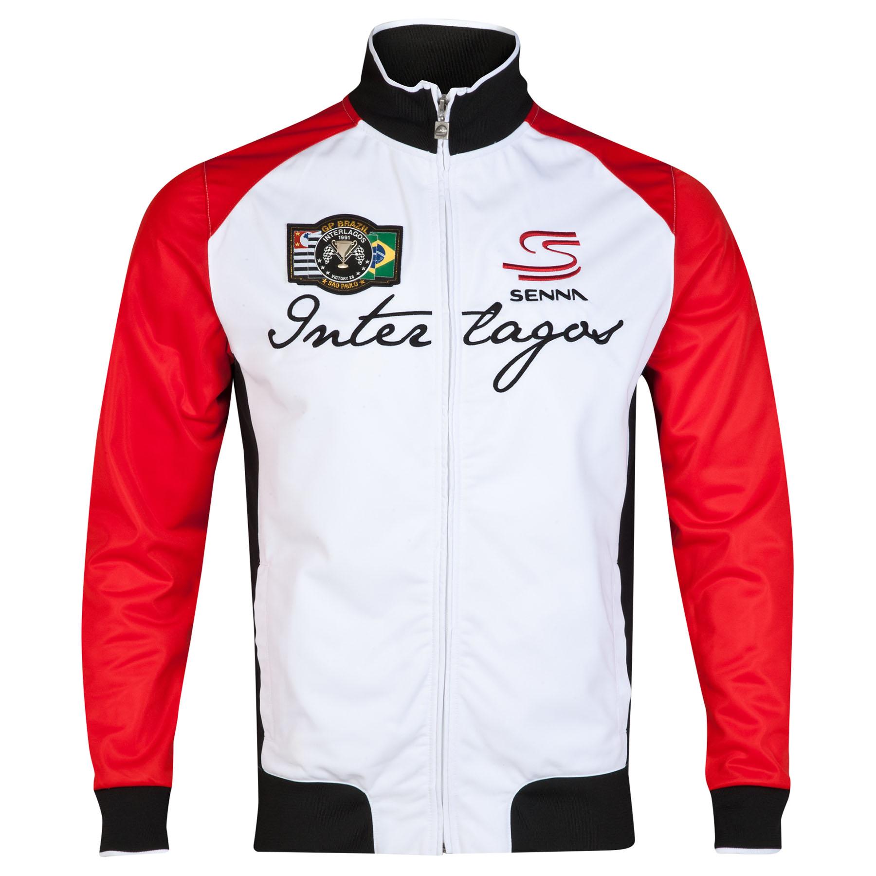 Ayrton Senna Interlagos Sweat Jacket