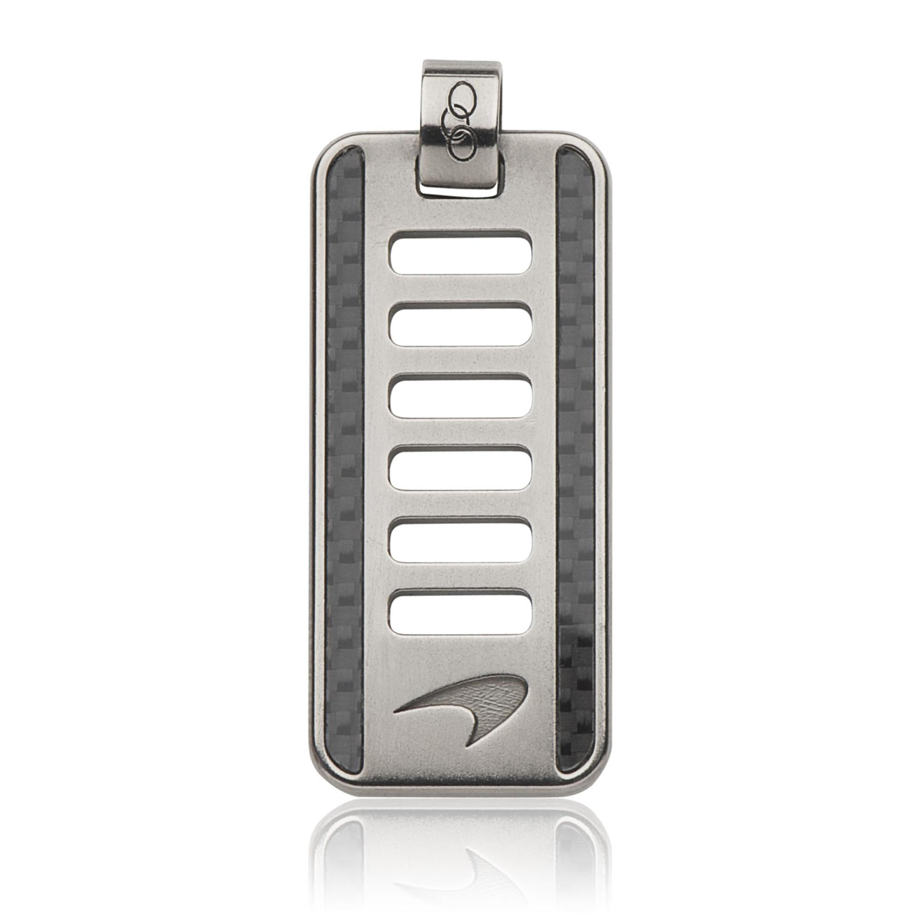 McLaren LINKS Perforated Dog Tag