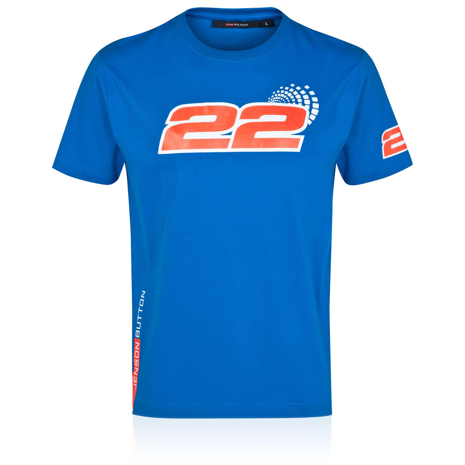 McLaren Mercedes Jenson Button 22 T-Shirt