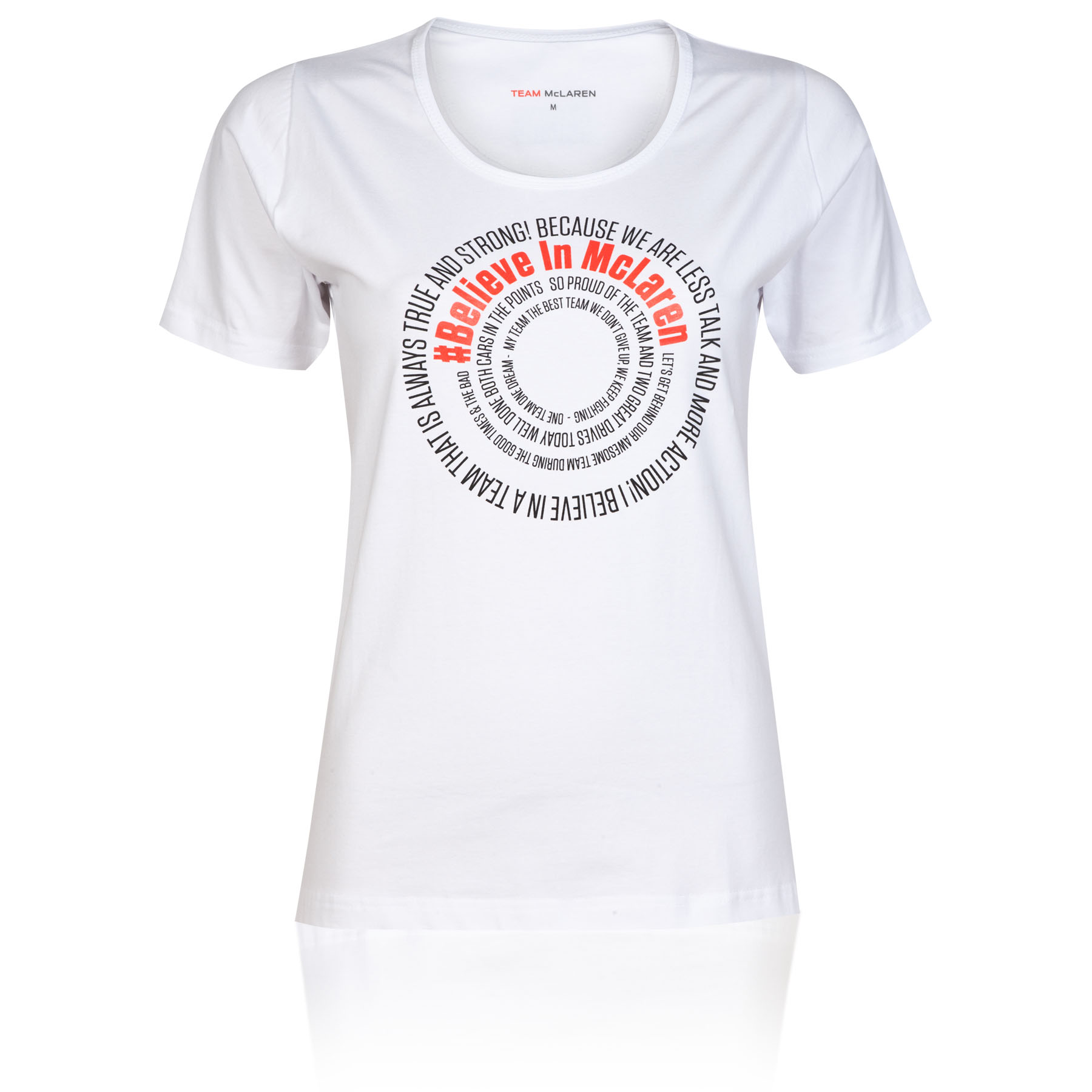 McLaren Mercedes Tweet T-Shirt - Womens