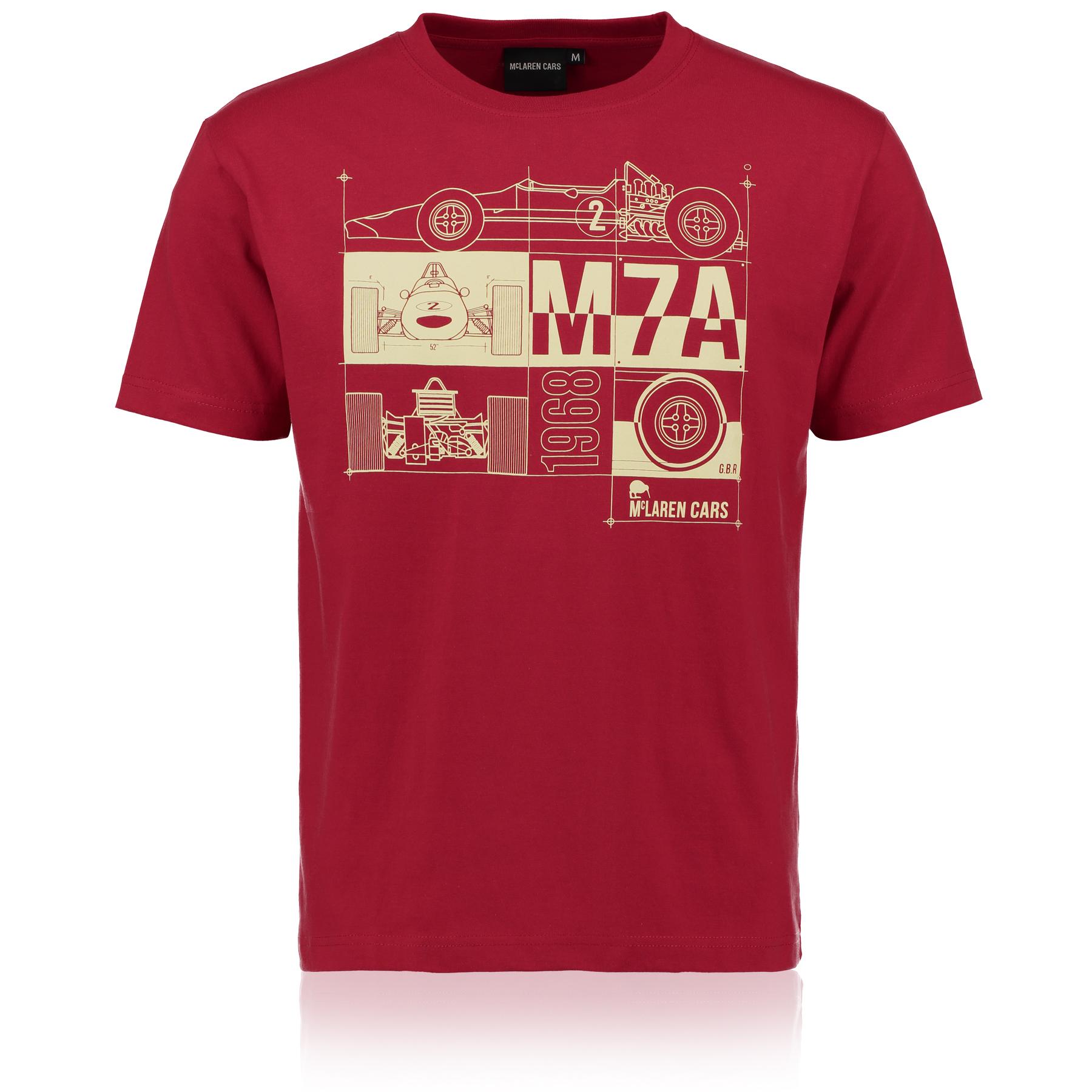 McLaren M7A T-Shirt Red