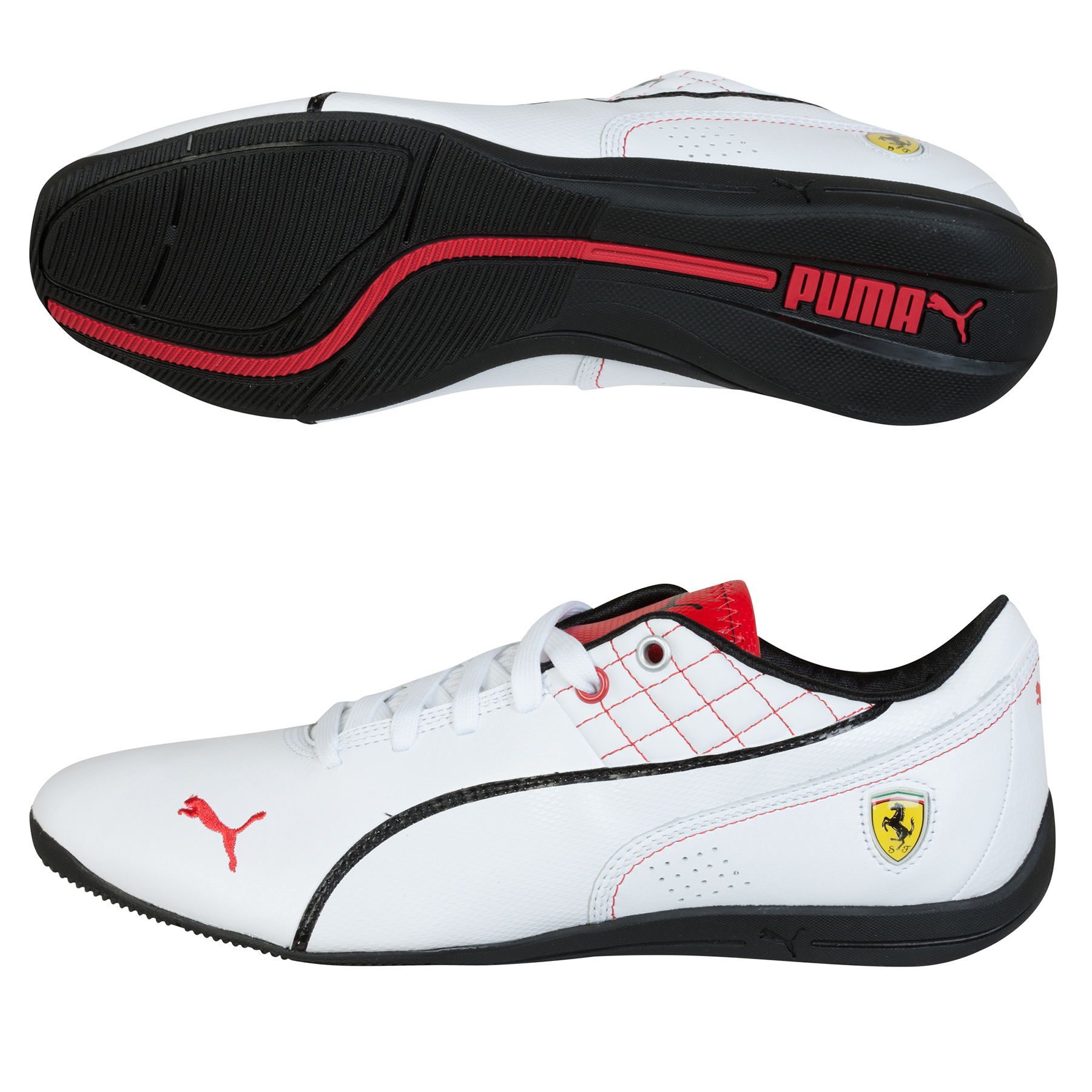 Scuderia Ferrari 2015 Drift Cat 6 SF Flash Trainer White