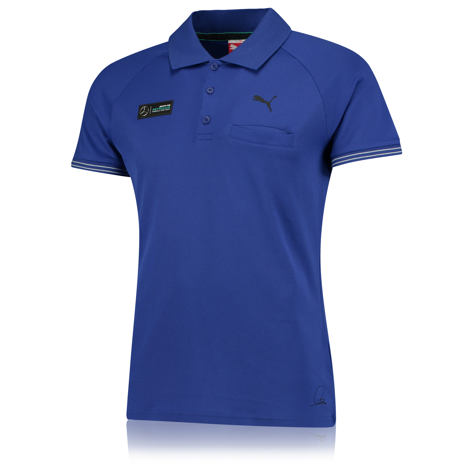 Mercedes 2015 Leisure Polo Royal Blue